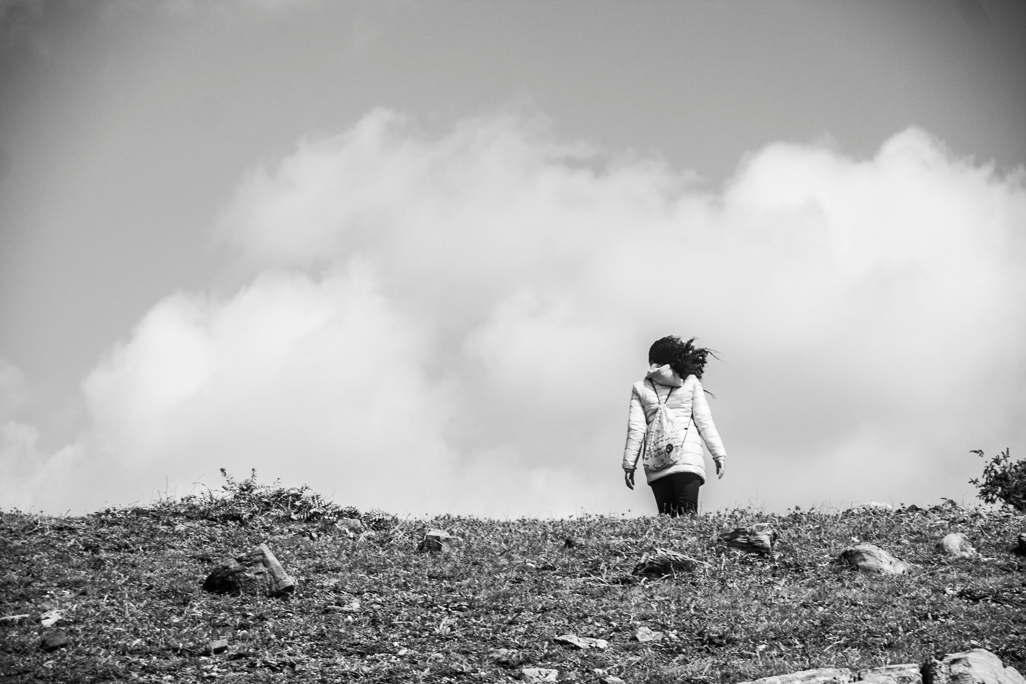 Tocando las nubes  by Fran Capote