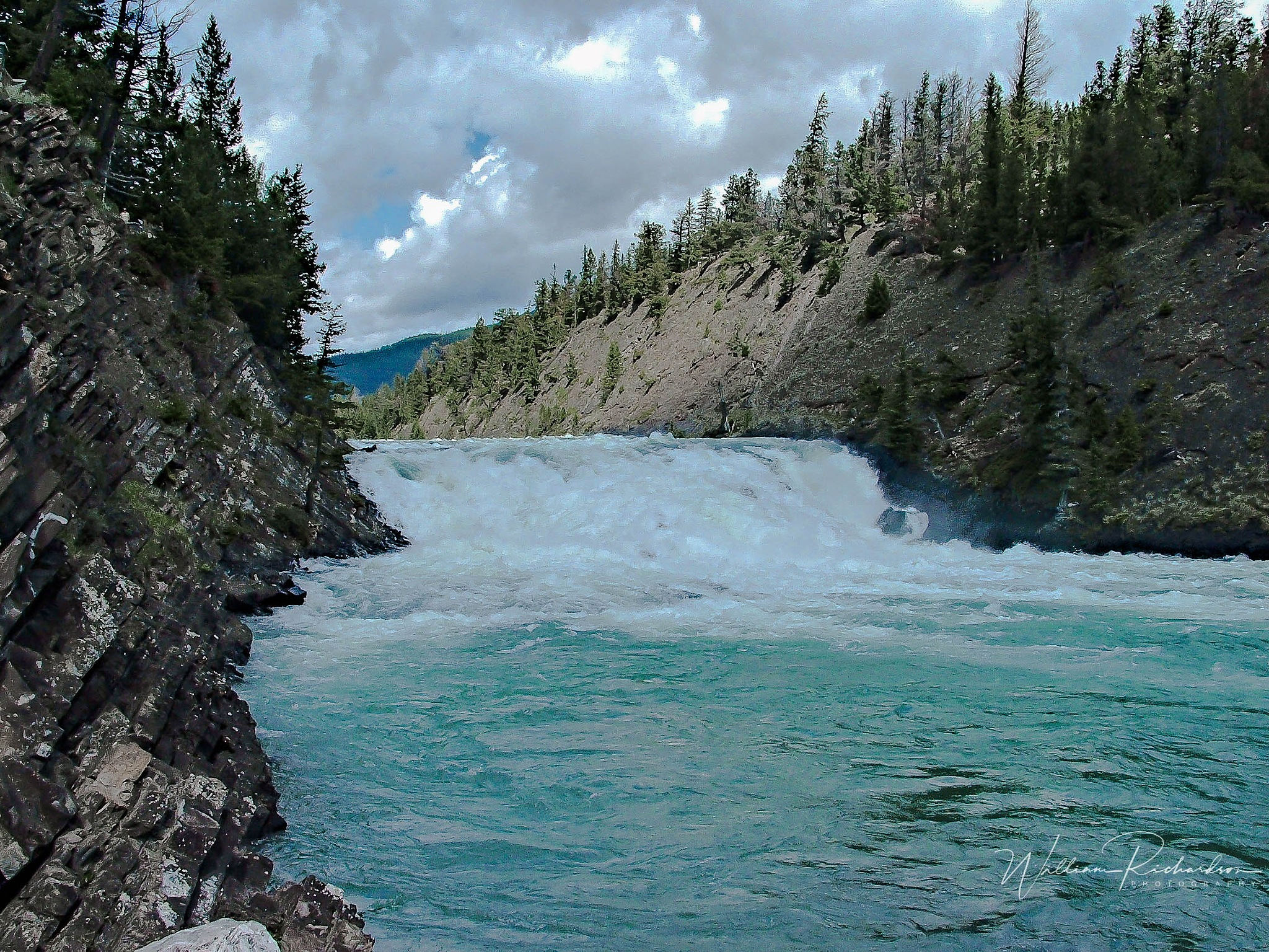 Bow Falls River by William Richardson