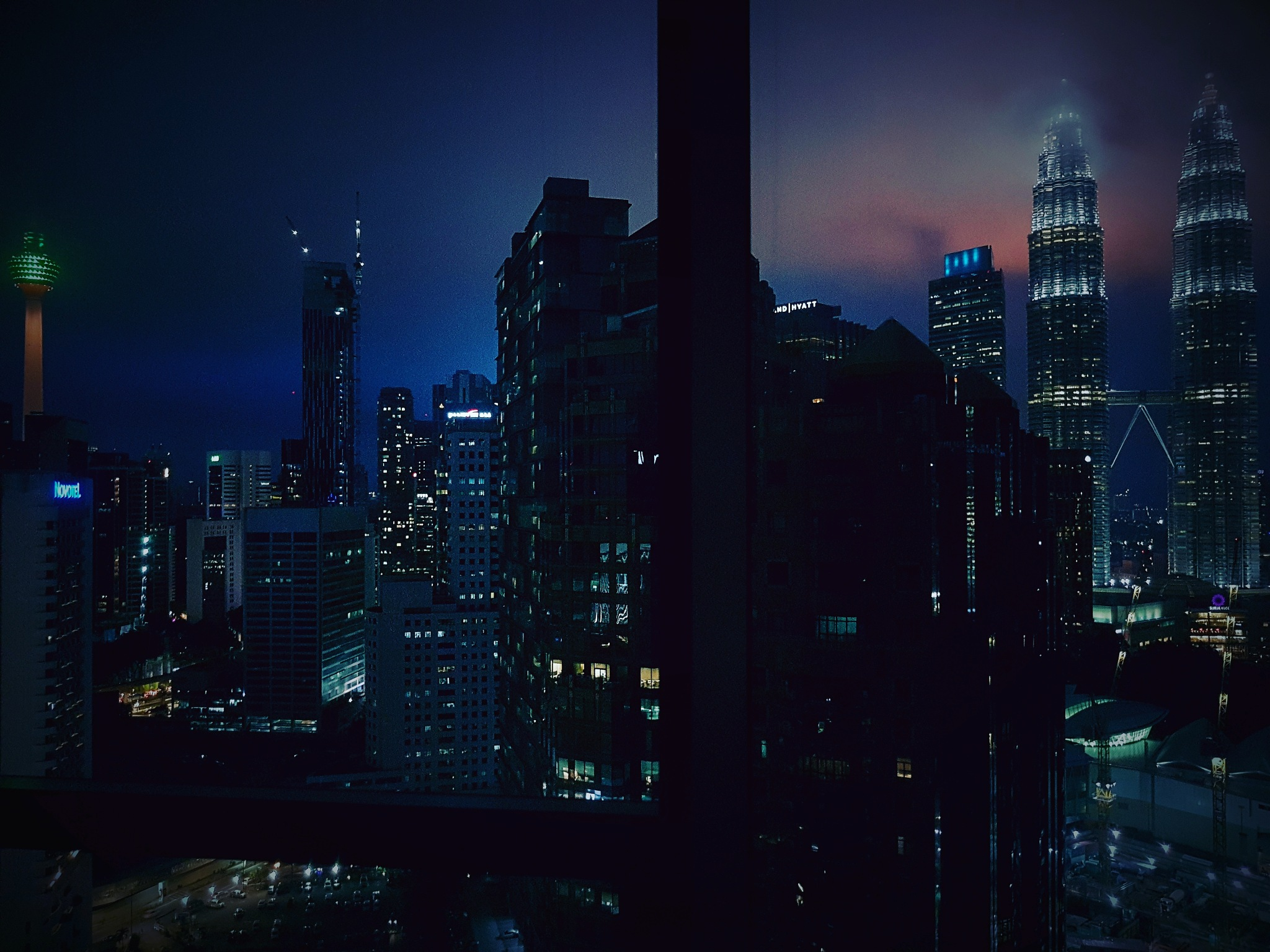 Landscape of Kuala Lumpur City..  by Rickie brewer