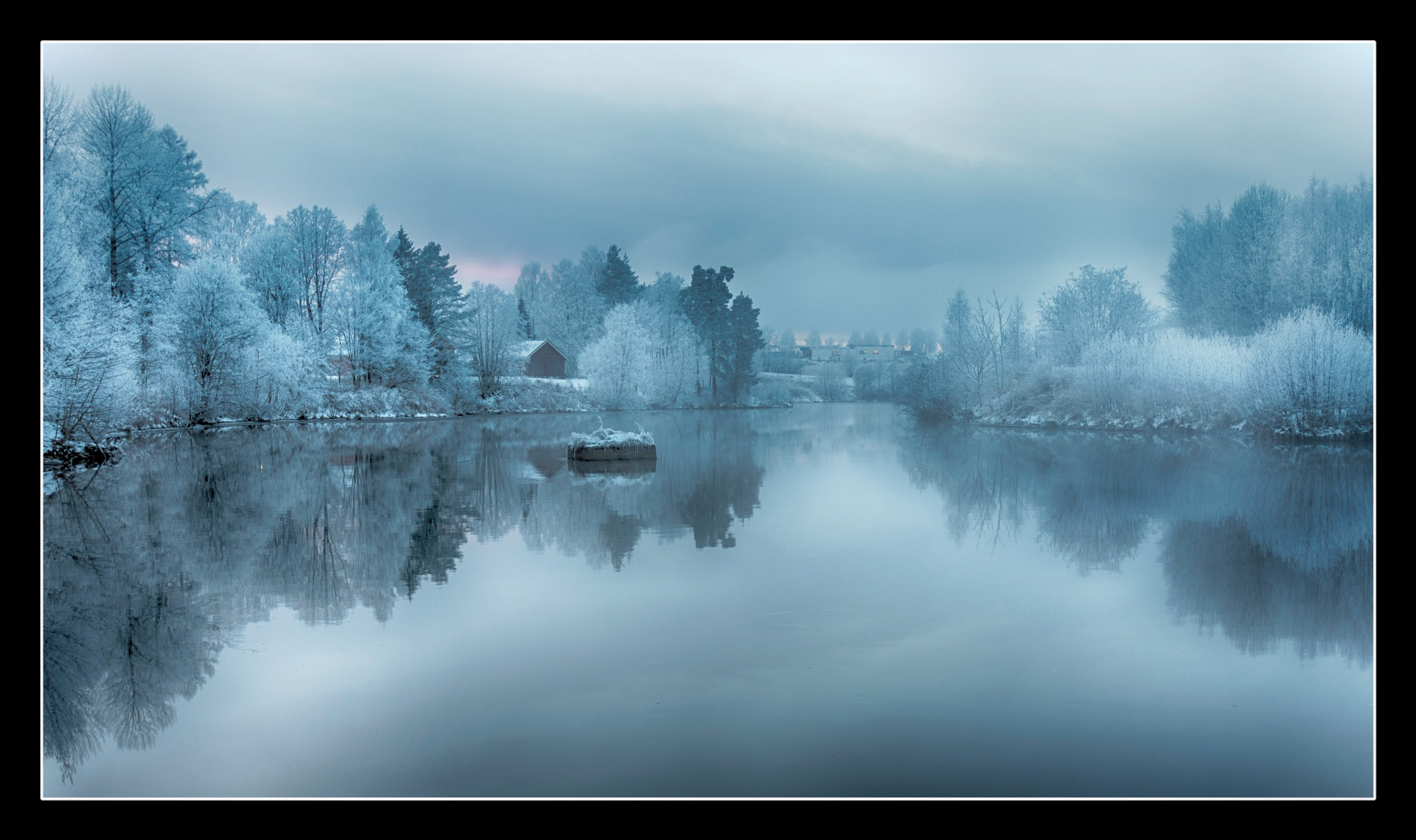 Winter By The River by Kristen Tande
