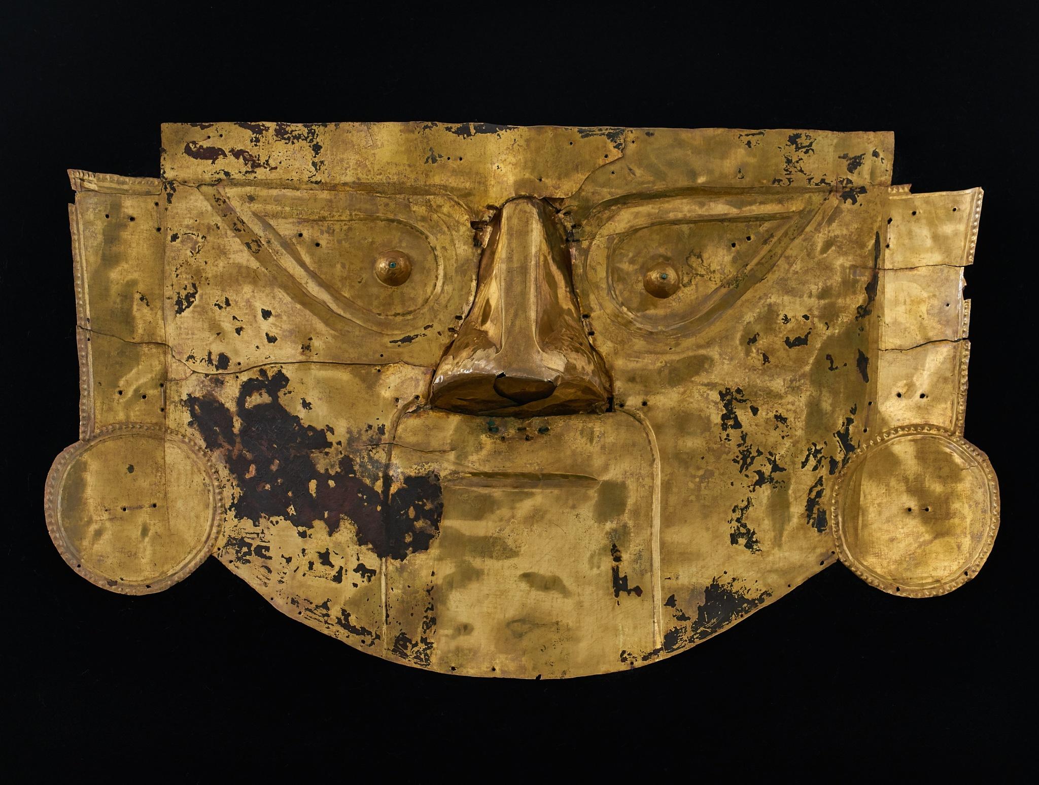Máscara Funeraria Cultura Lambayeque by Joseluis Franco