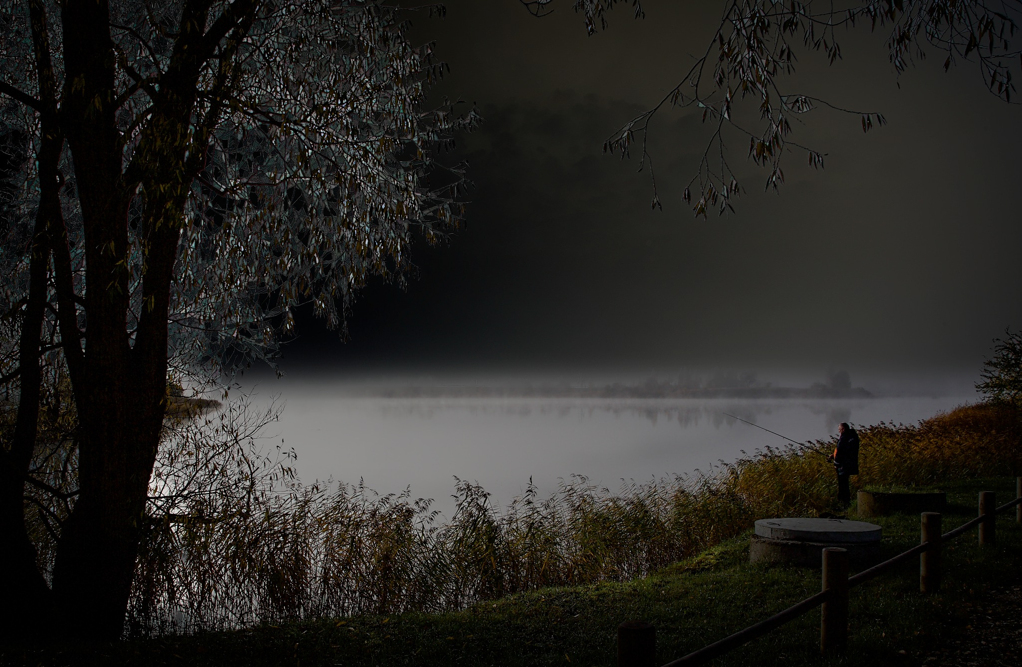 Silver river... by Aleksandrs Drozdovs