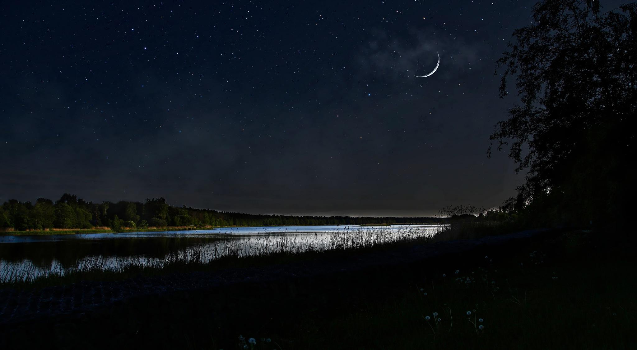 Night... by Aleksandrs Drozdovs