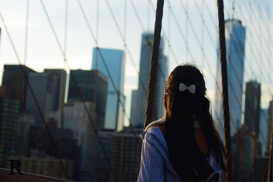 New York Brooklyn Bridge  by rebecca pickell