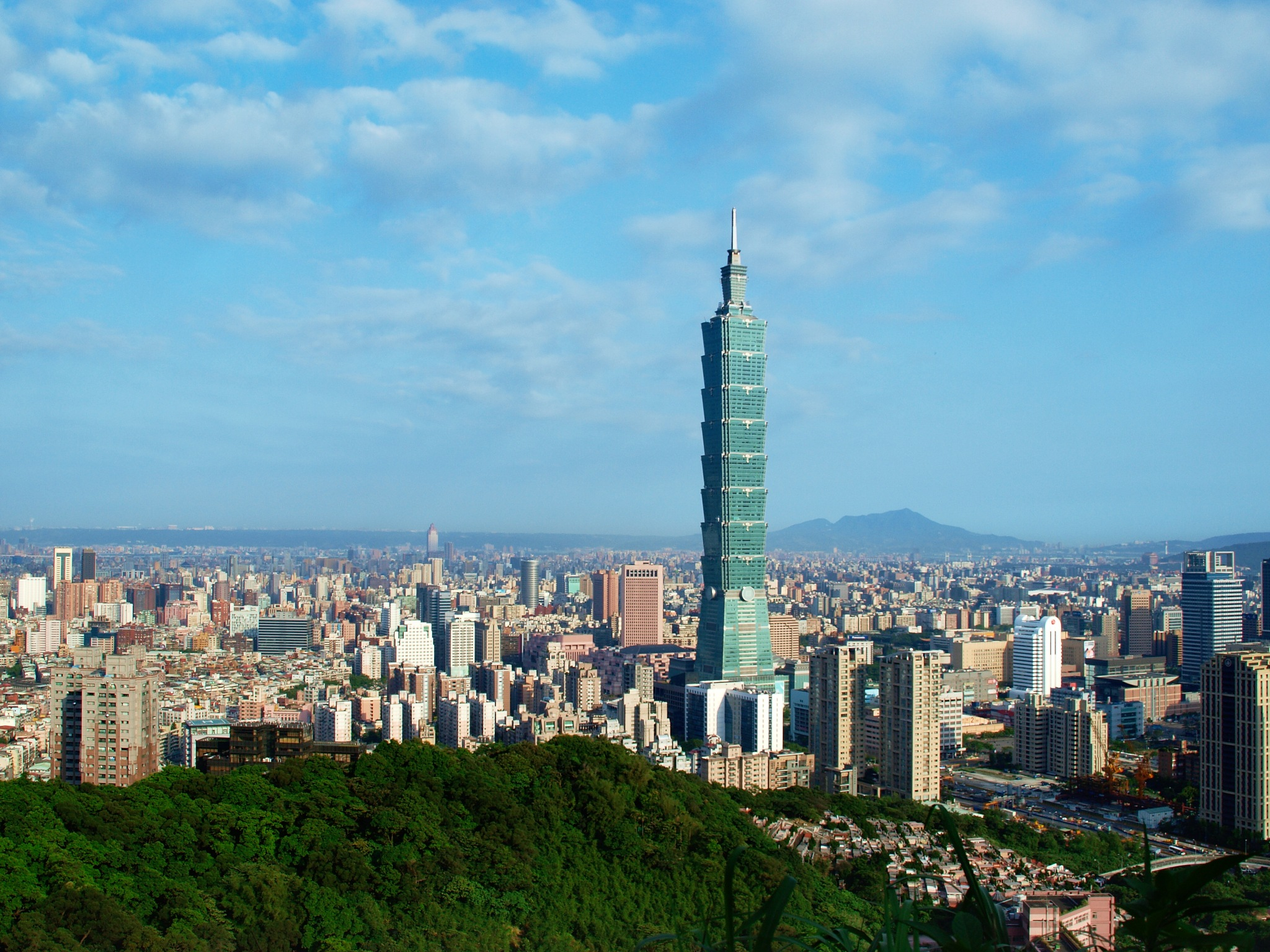 Taipei Basin Aerial by Alix Lee