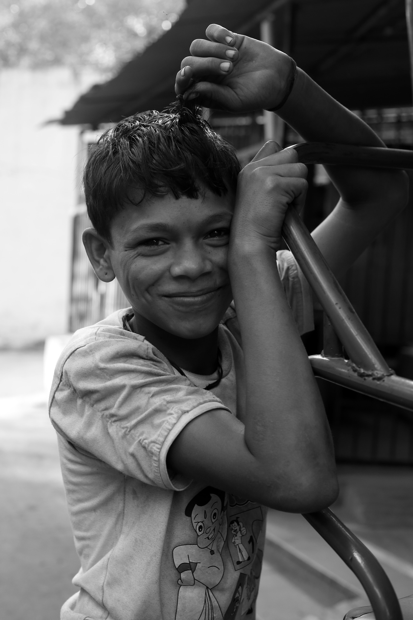 smile by Makesh Bala Murugan