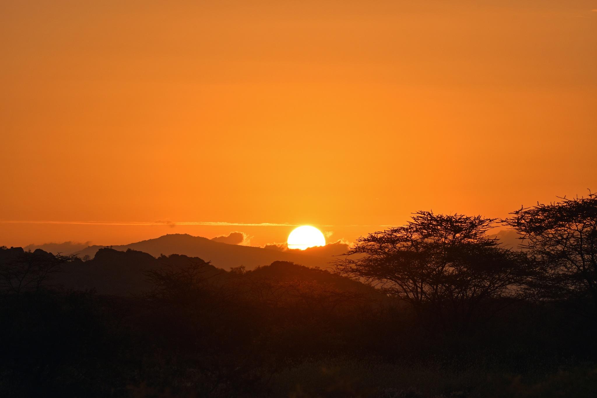 African Suneset by Chris B