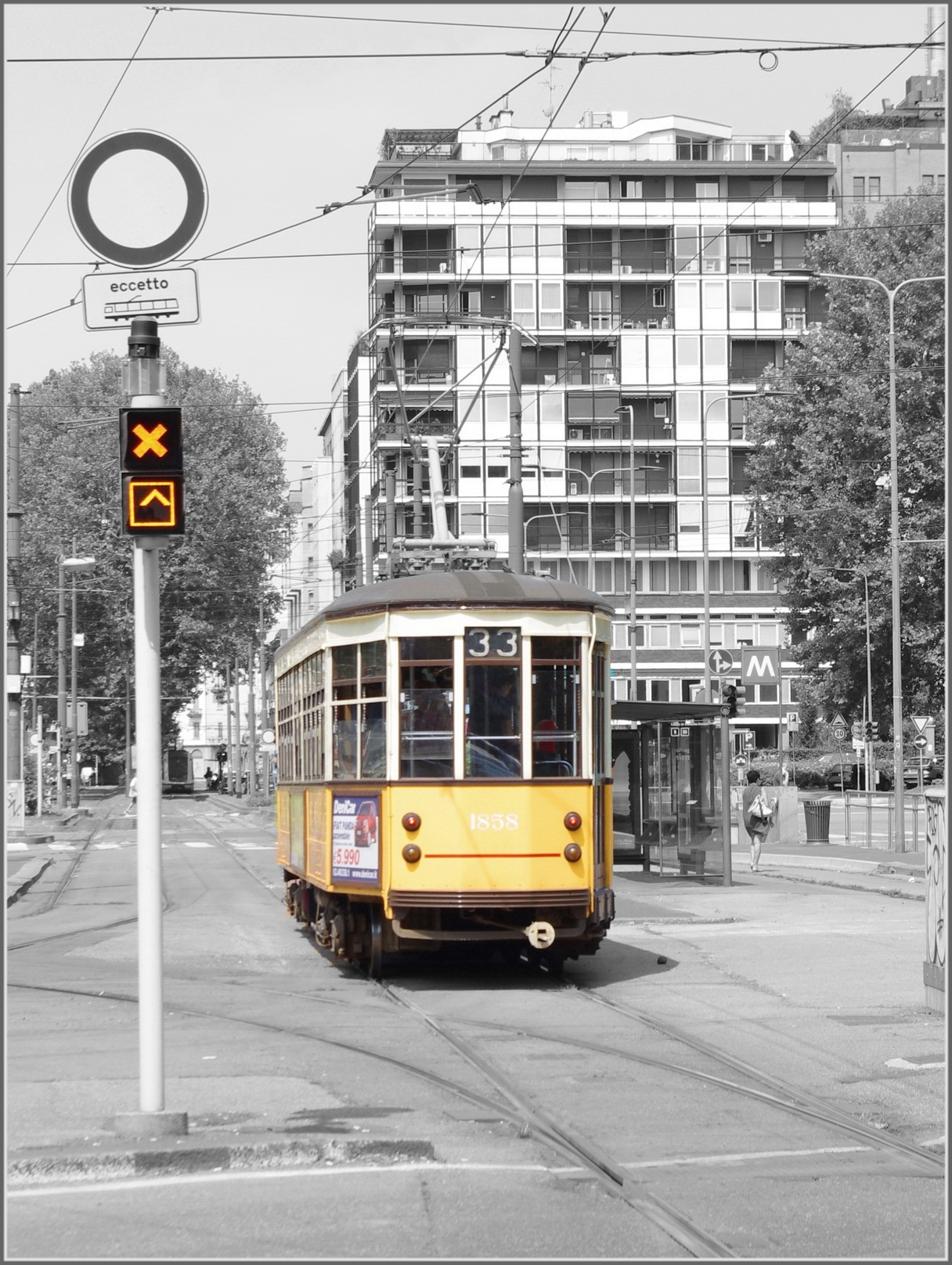 Tram numero 33. by Panov_Nikolay