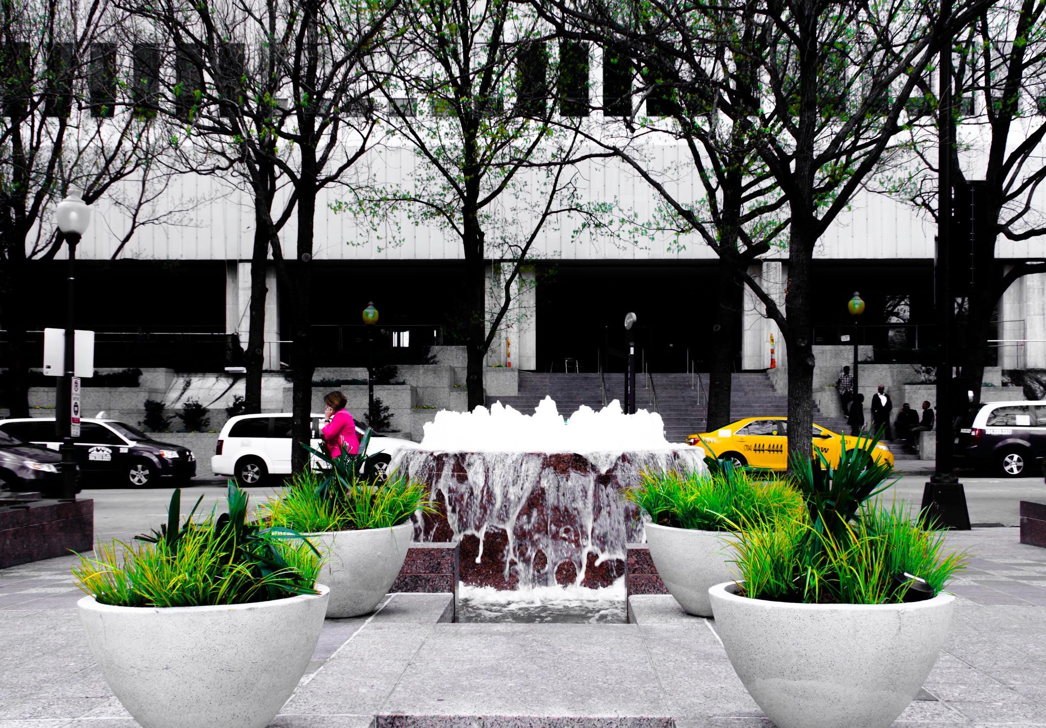 Downtown Charlotte by Jakob Nielsen