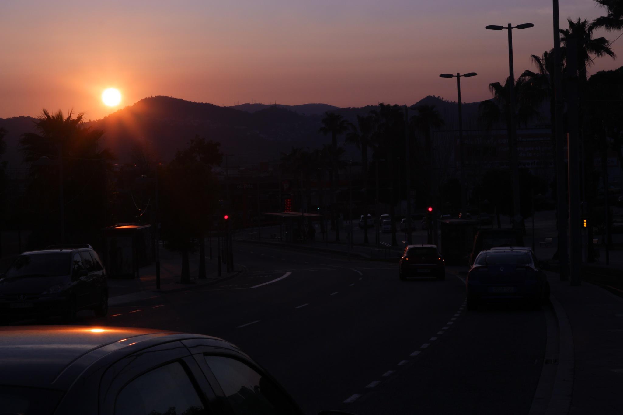 sunset by Patrícia Šťastná