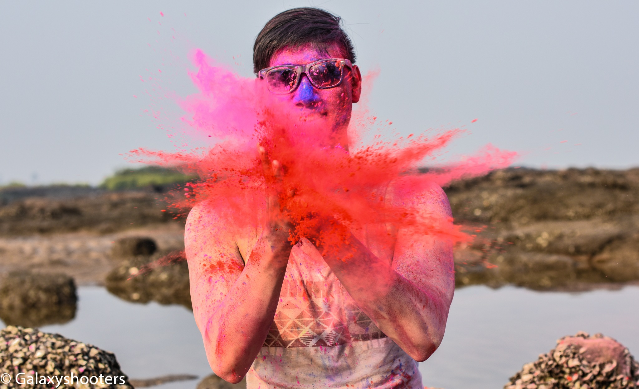 Holi concept shoot by GALAXY SHOOTERS