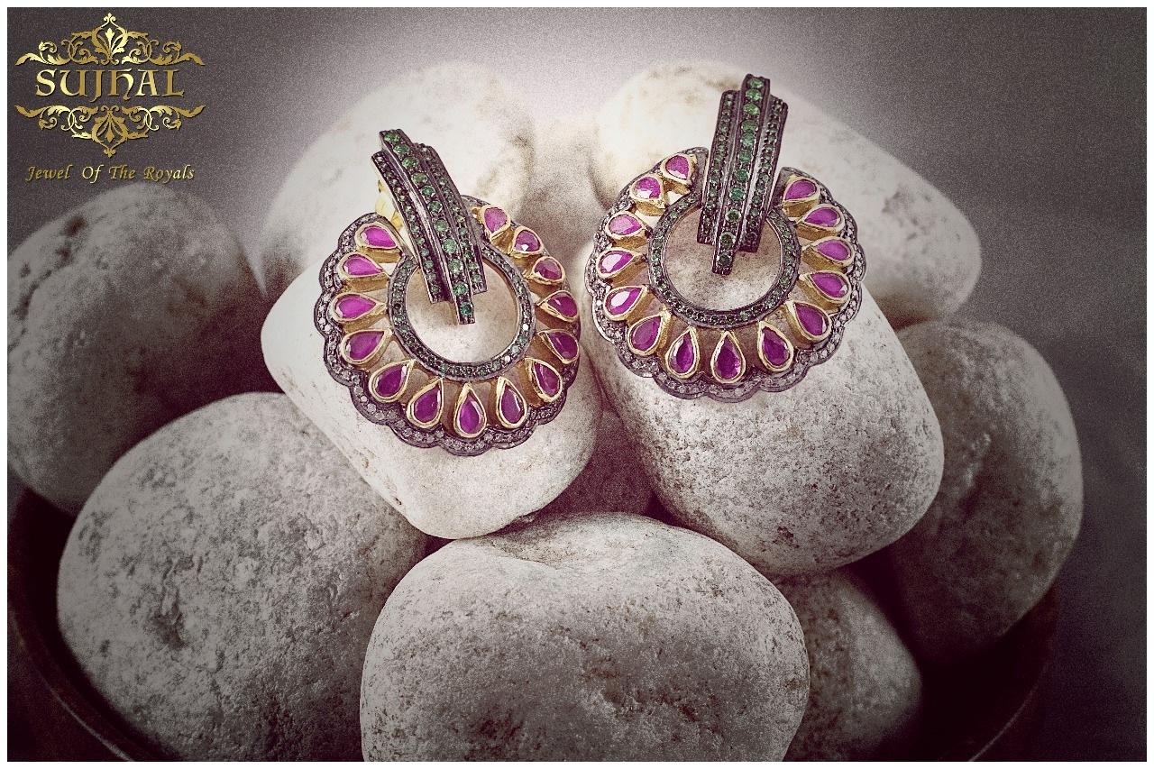 Jewellery Photo Shoot.. (ear rings)  by Vkas Joshi