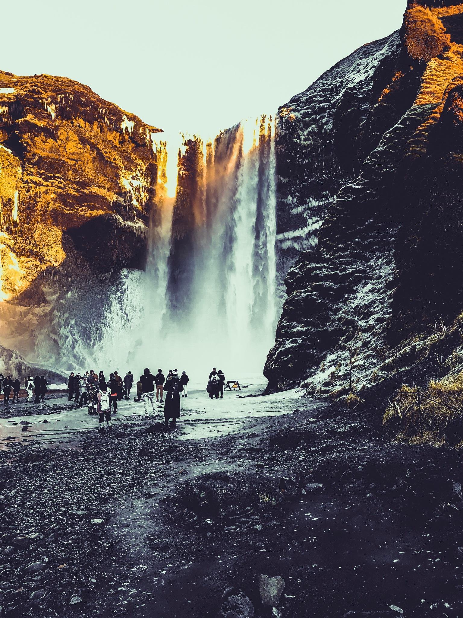 Just a big waterfall by Reece Watmough