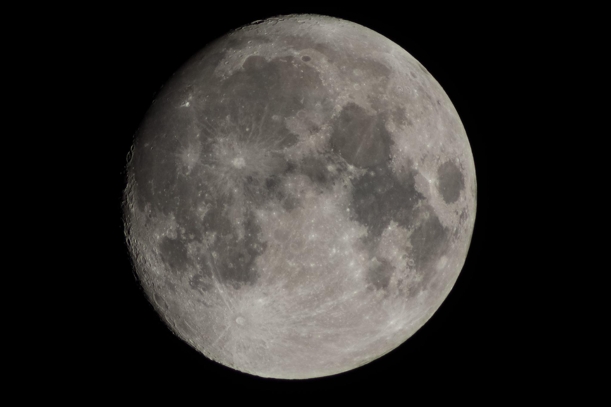 The moon by Sergej Pril