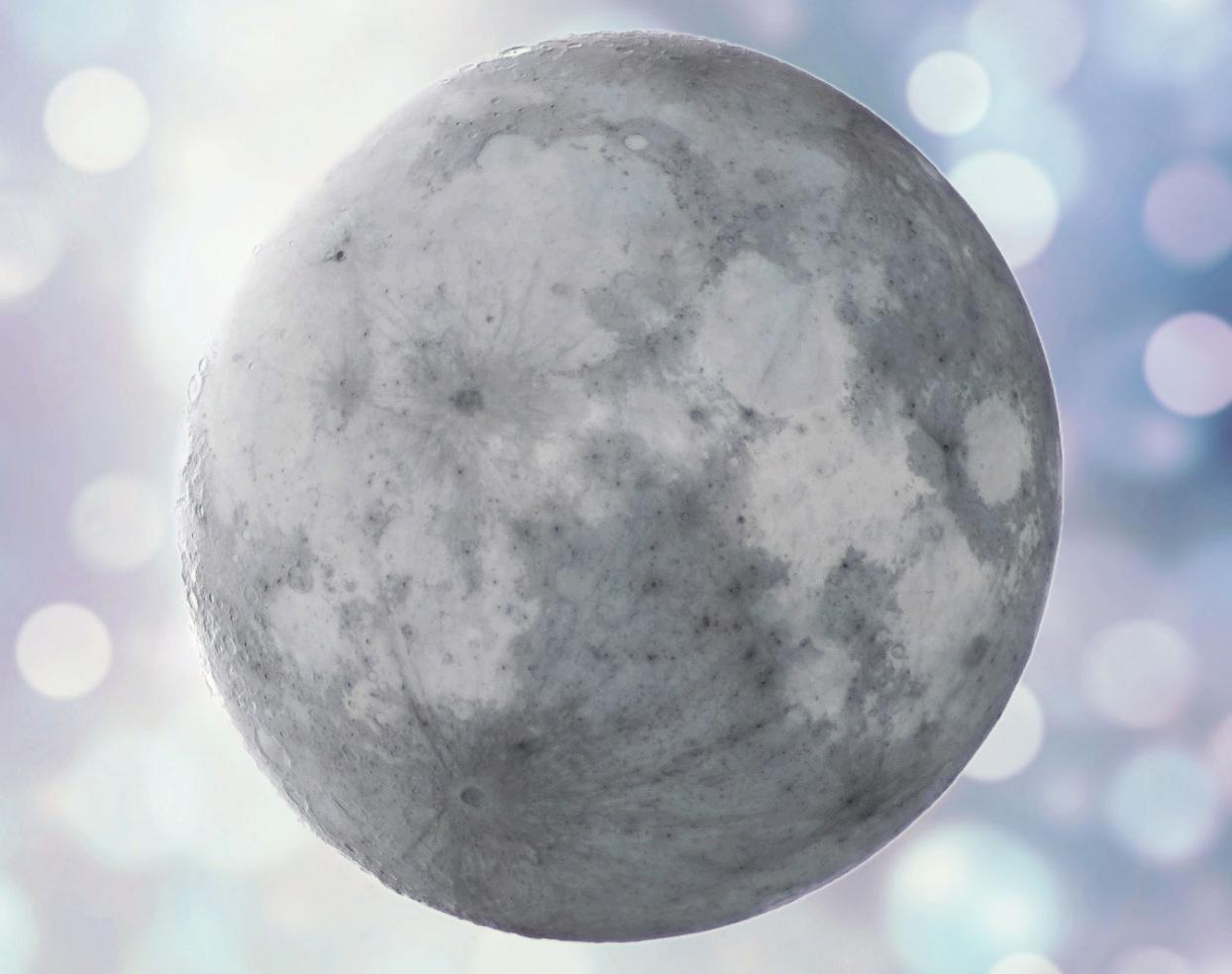 Inverted moon by Sergej Pril