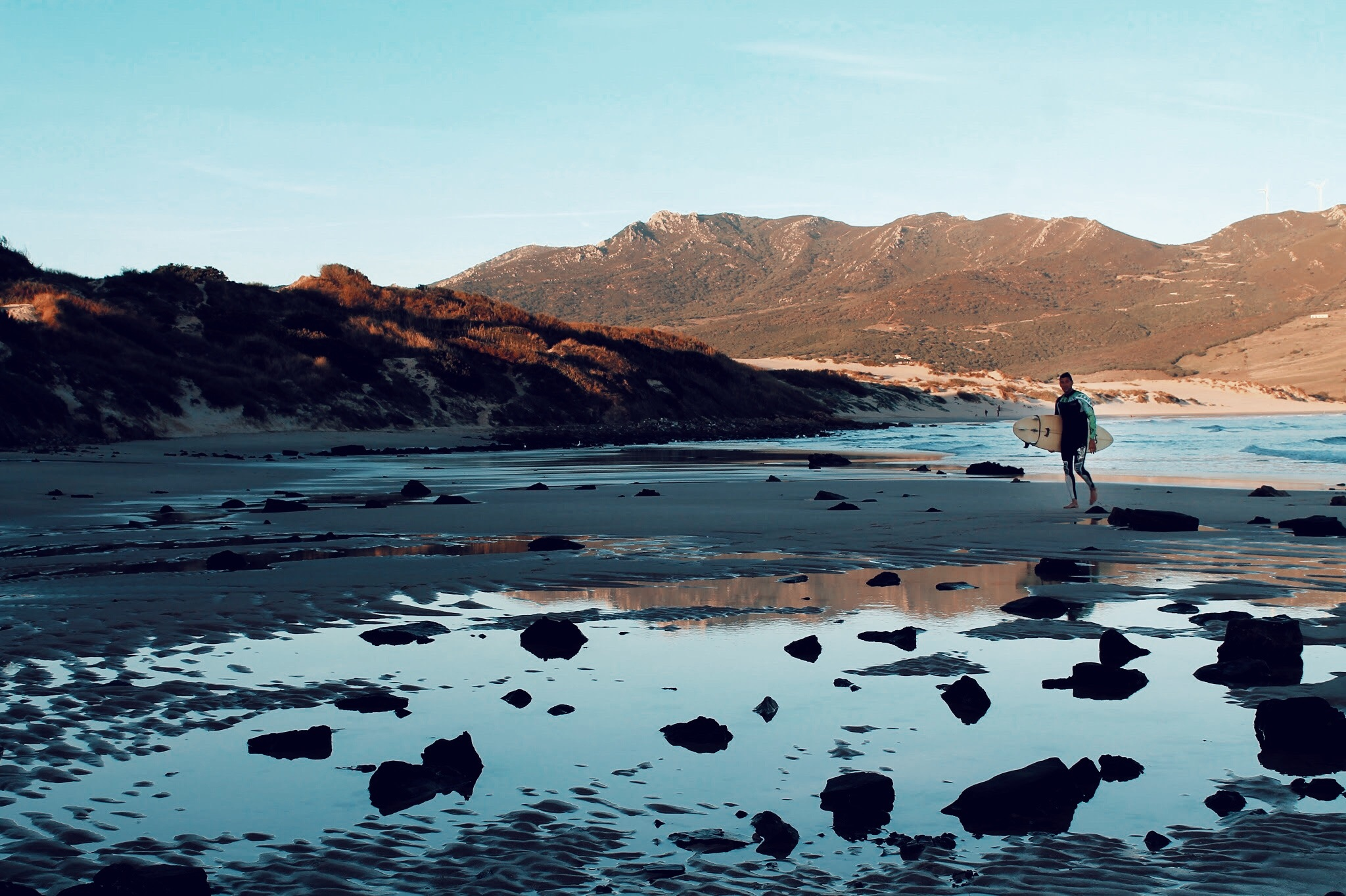 Tarifa Beach by Angela Cotta