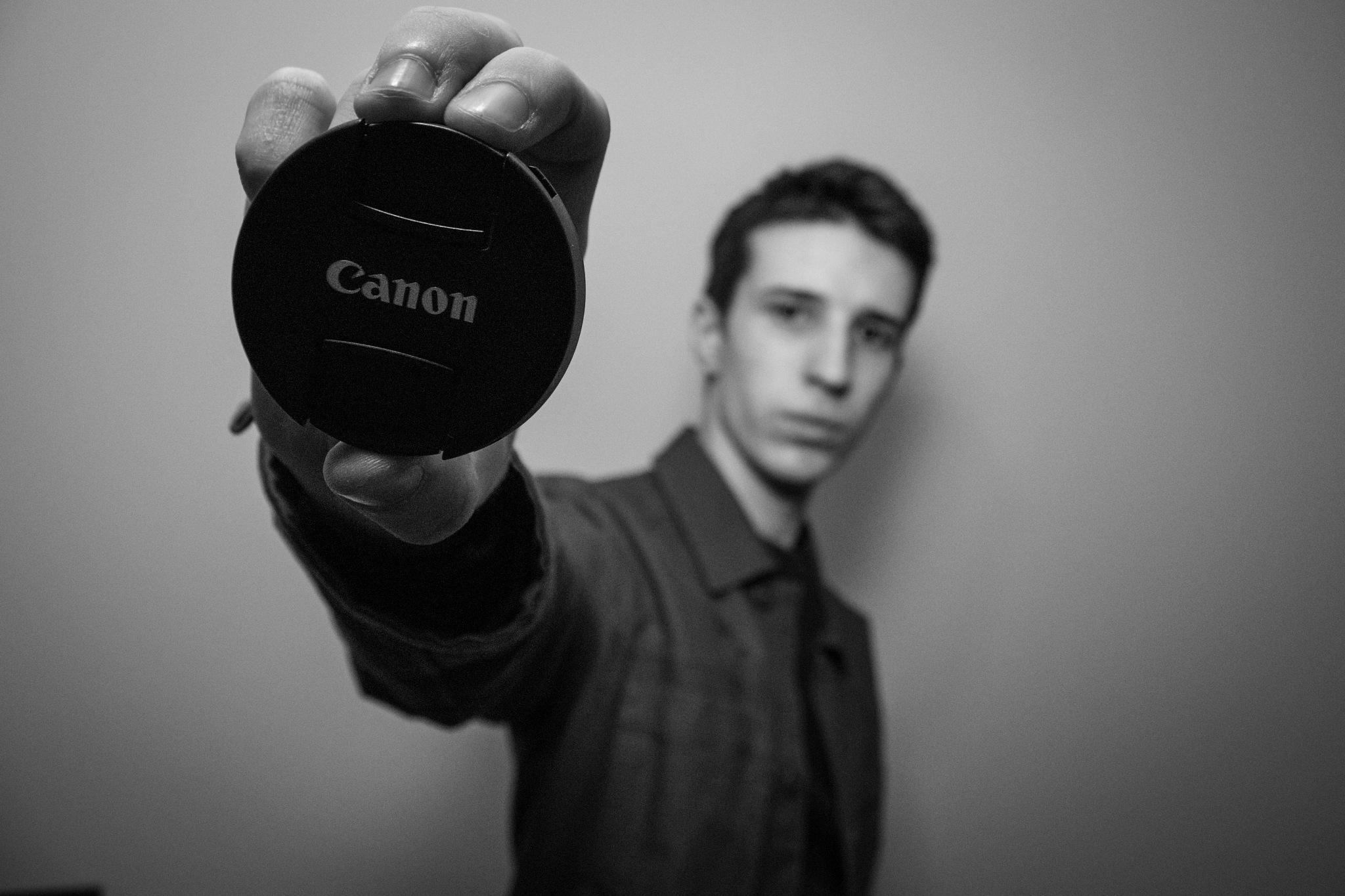 Canon Self-Portrait by Ellis Ball