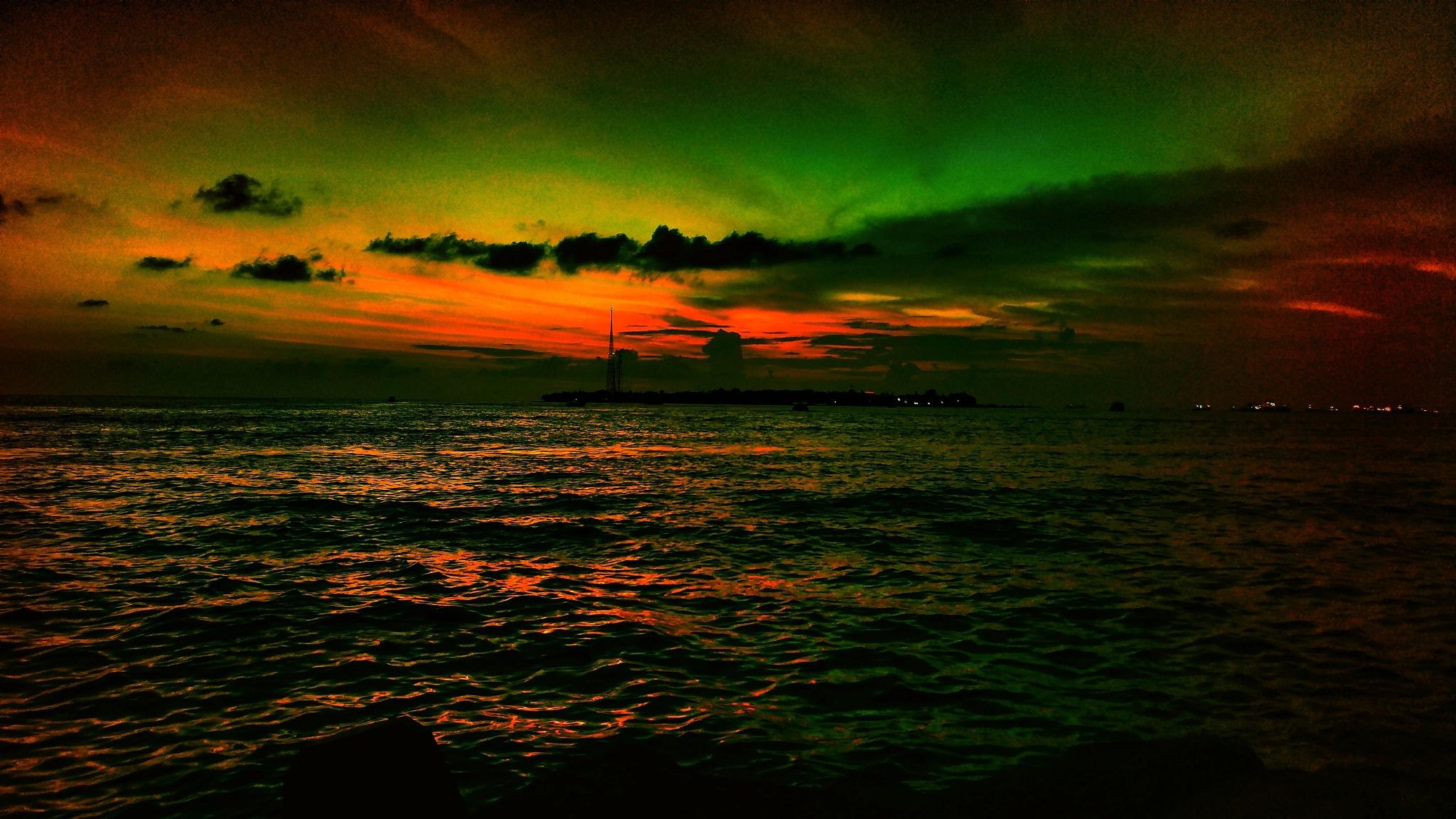 Sunset ❤ by Yattey D. Koaru