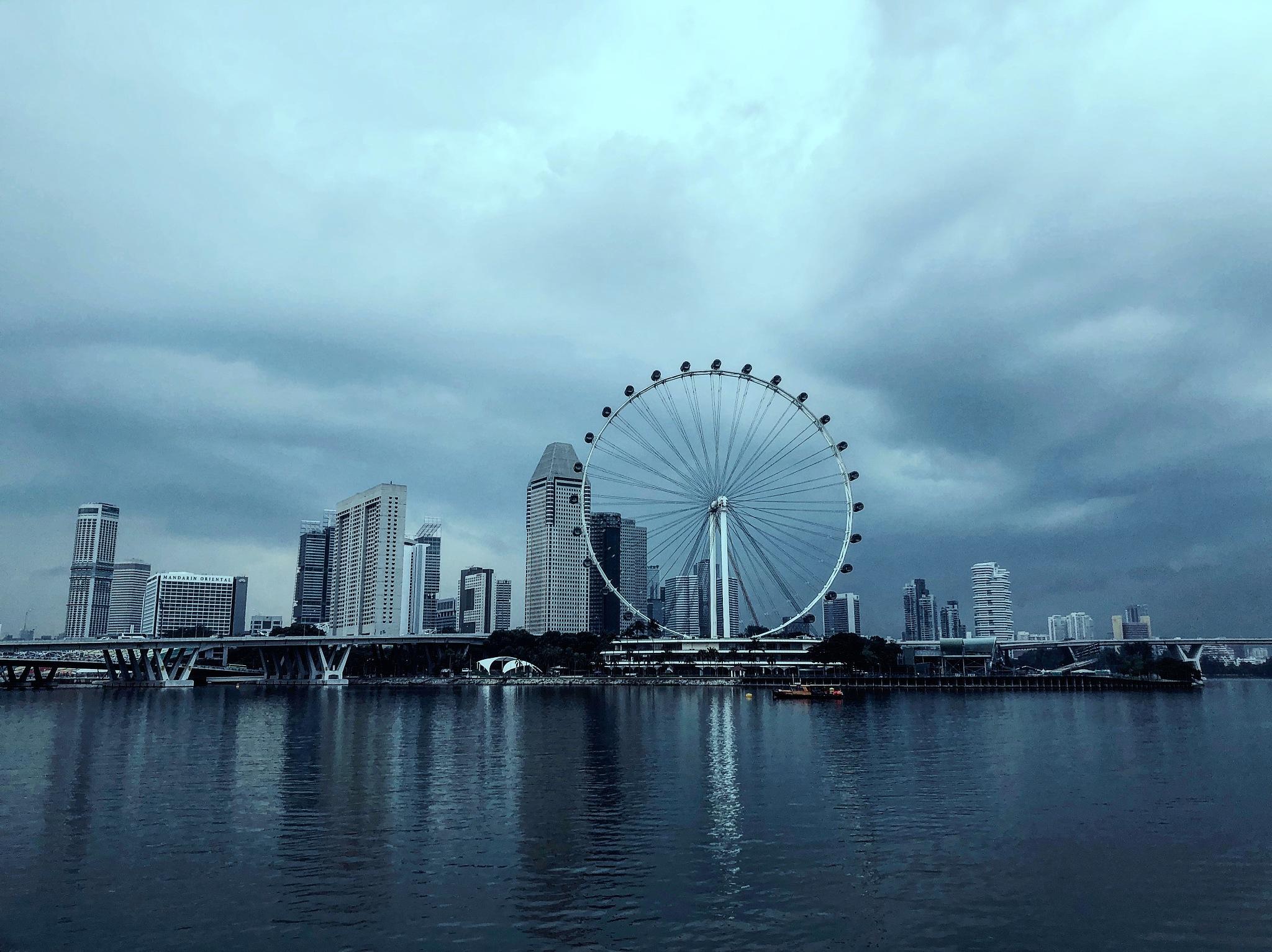 Skyline by Ashwin Sivakumar