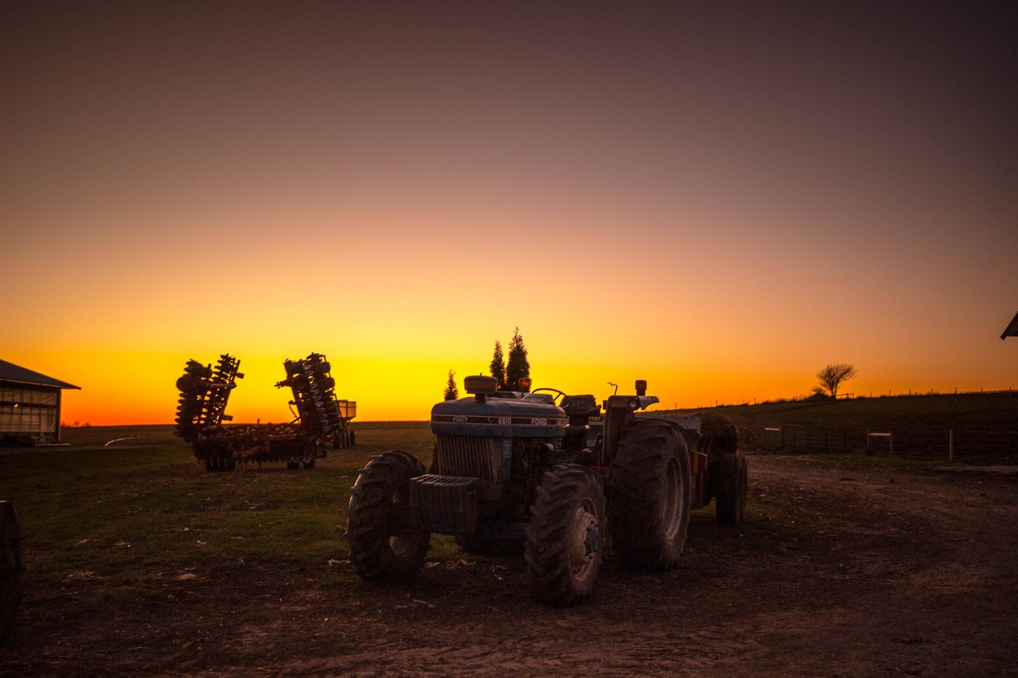 Sunset - Wisconsin by Ashwin Sivakumar