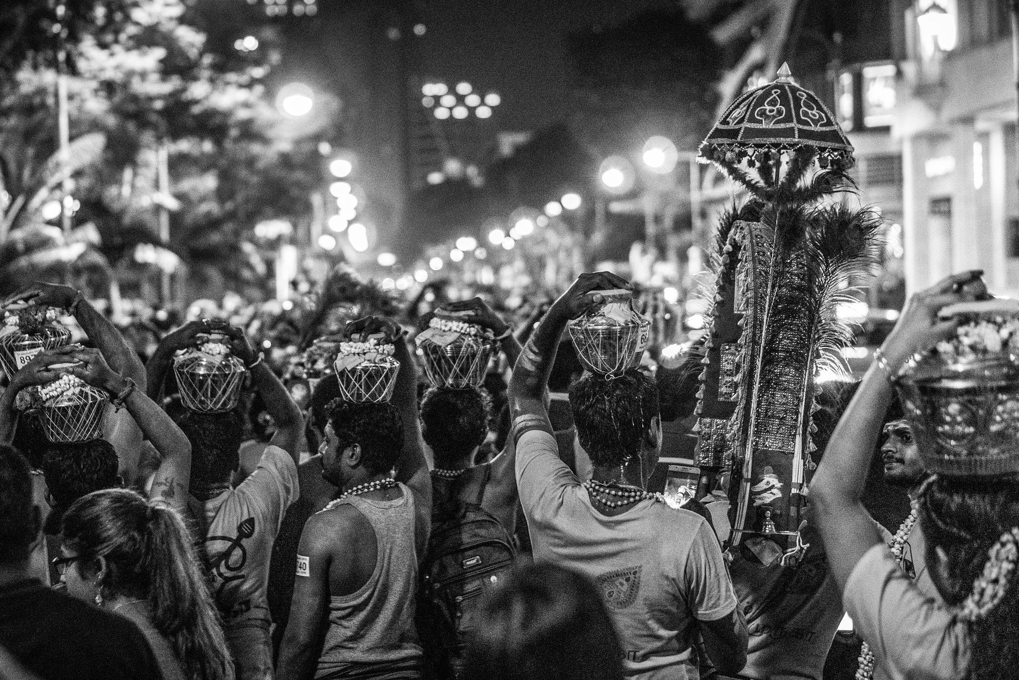 Thaipusam - Singapore by Ashwin Sivakumar