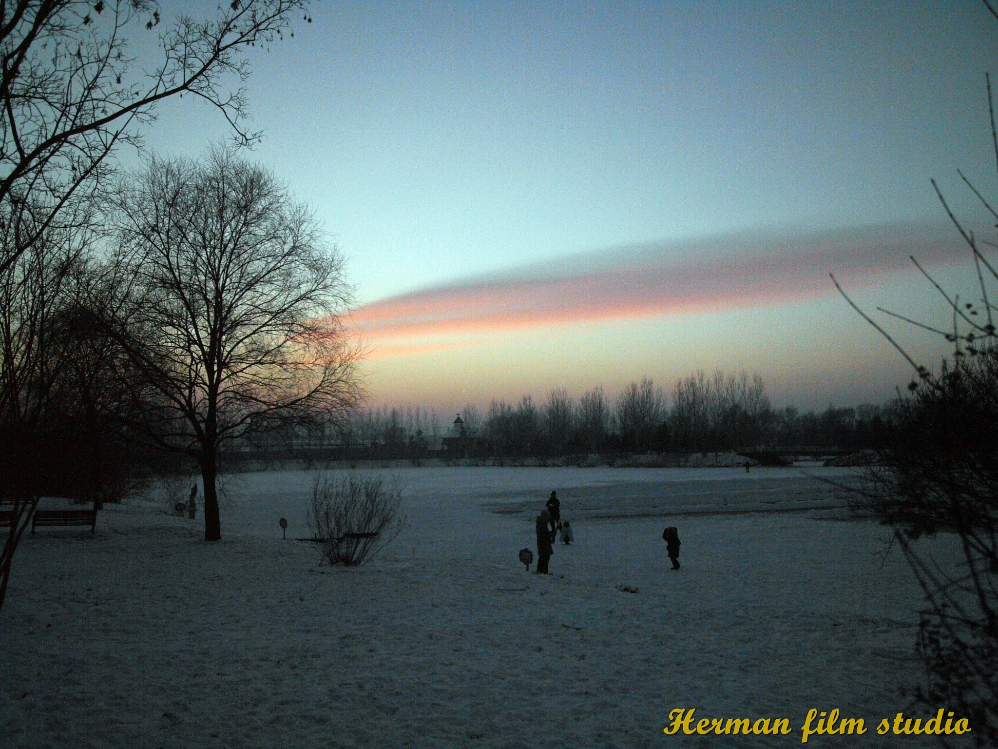 sunset by hugaman157