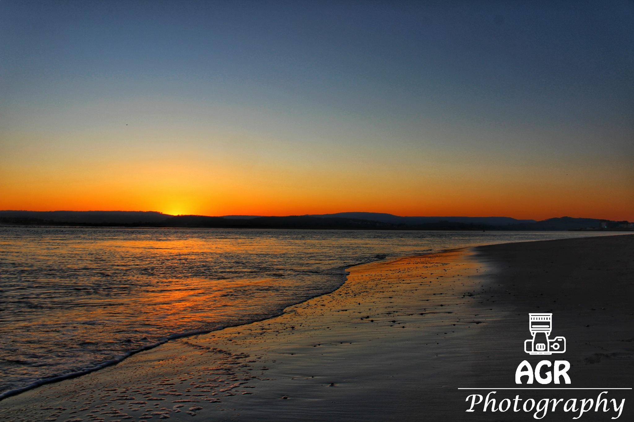 Exmouth Sunset by Alasdair Rust