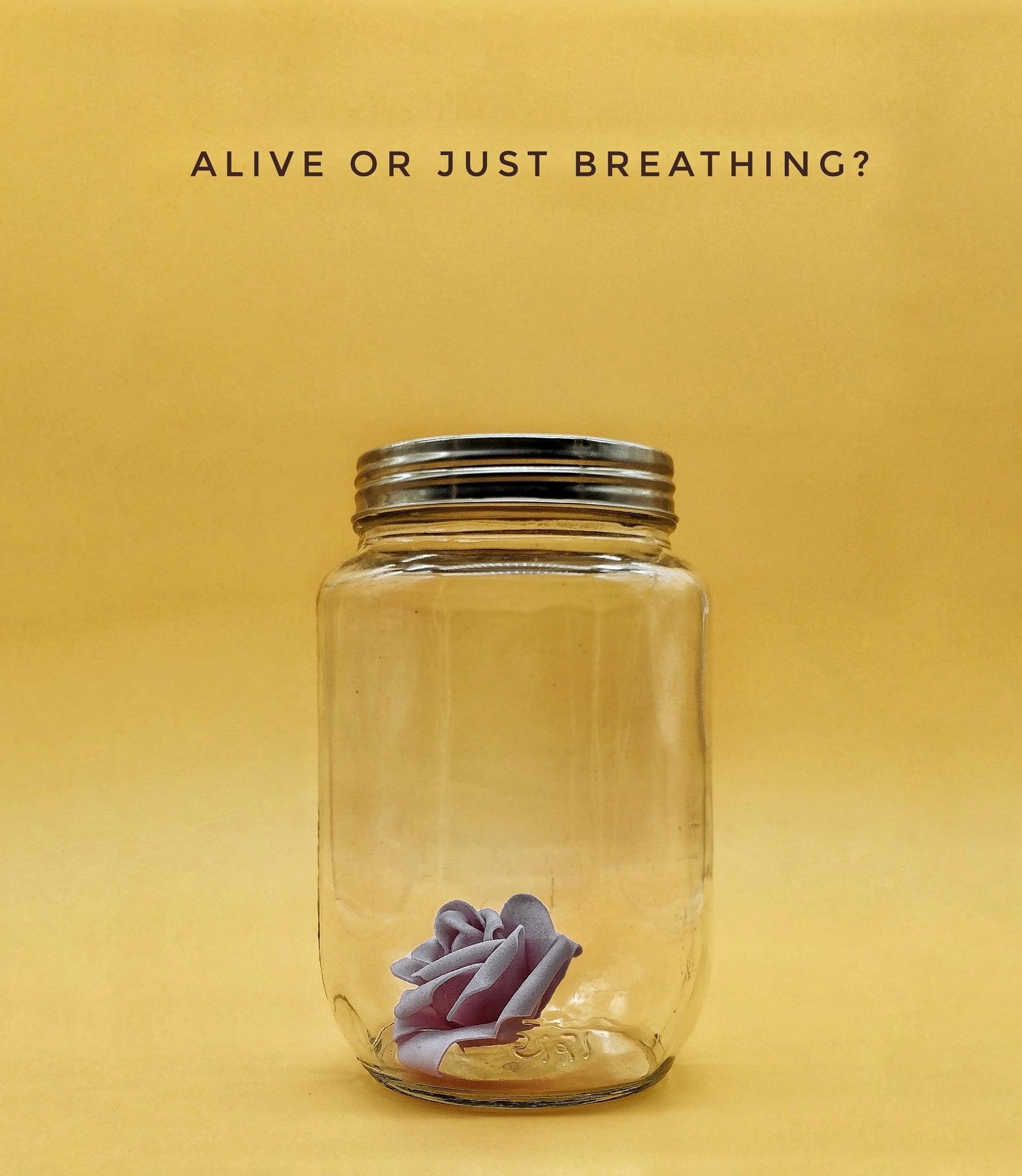 alive or just breathing? by karan katariya