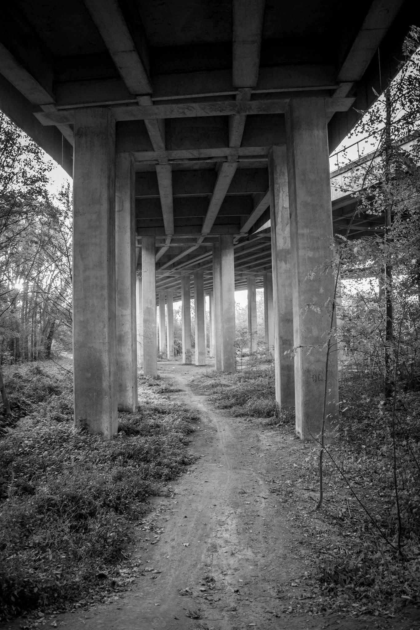 under the bridge by DE KERF ANTHONY