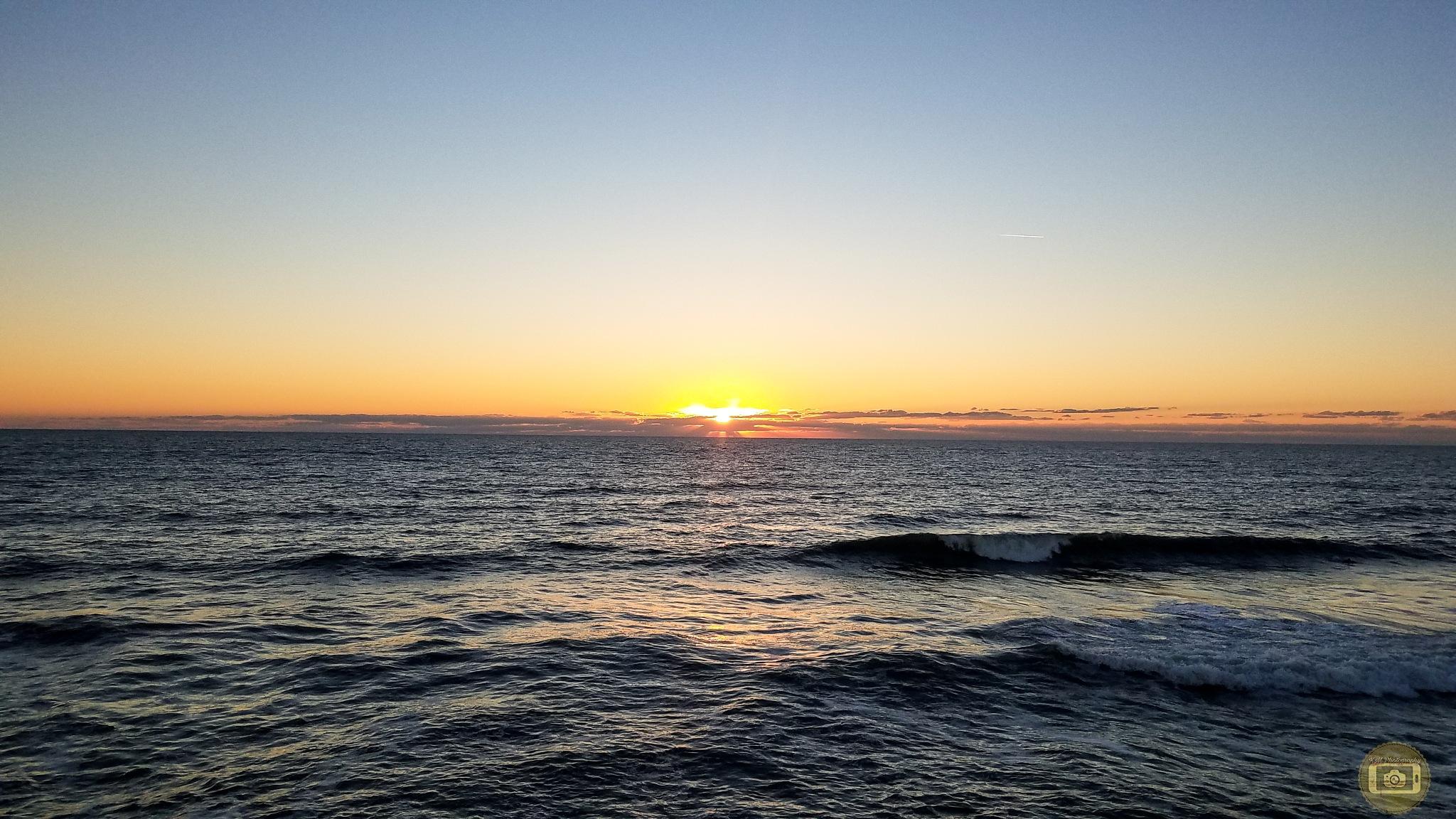 Saint Augustine Beach, Florida Sunrise  by KMPhotography