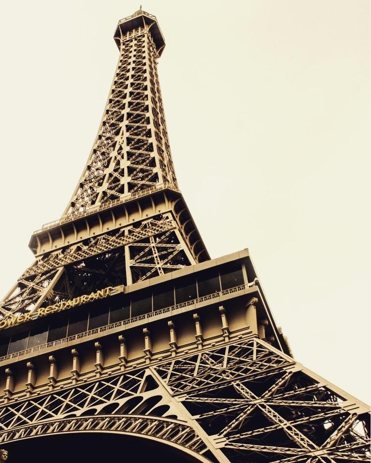 Little Eiffel Tower  by Arianna Taite