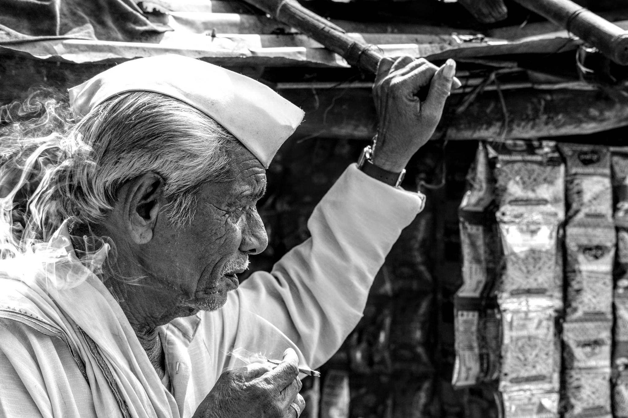 Old man  by Utsav Gharde