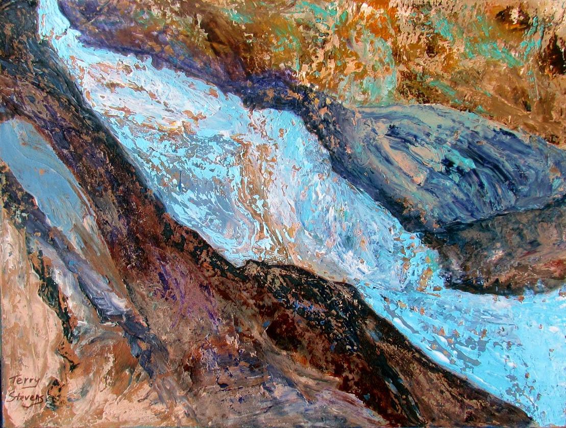 Sedimentary Swirl by Terry Stevens