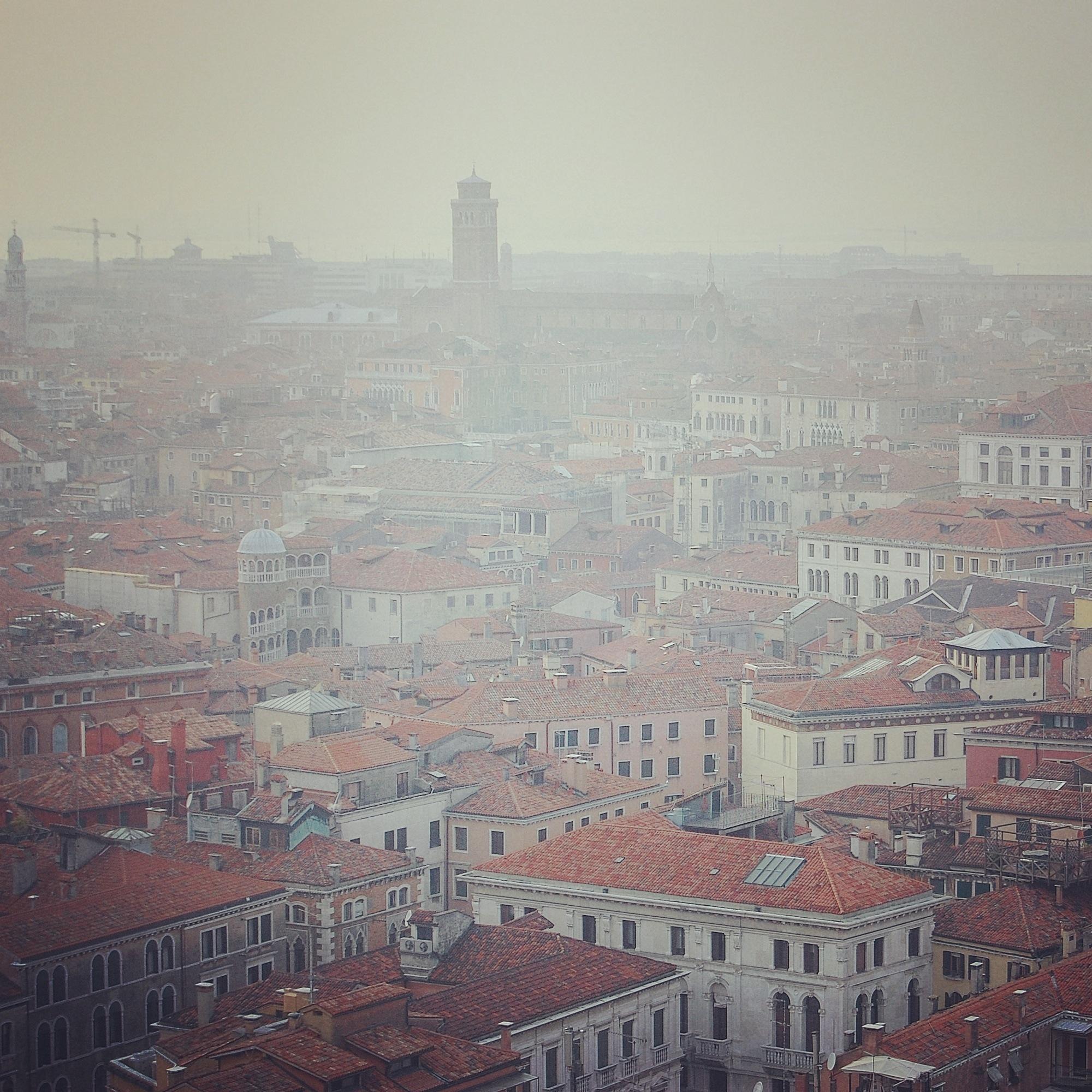 Venice in foggy morning  by dimcelozanoski
