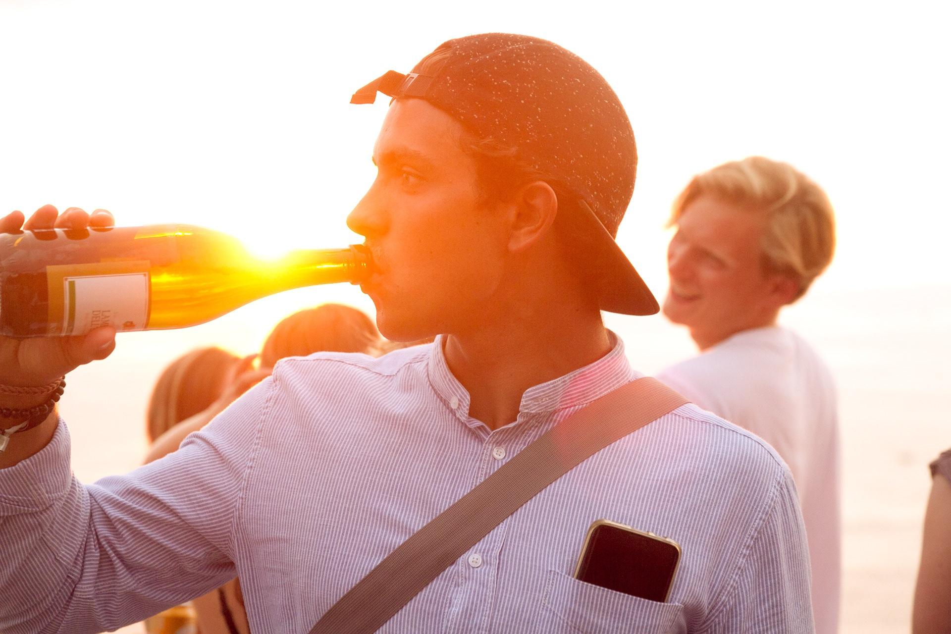 Enjoy the sunset by Adrian Jaffé