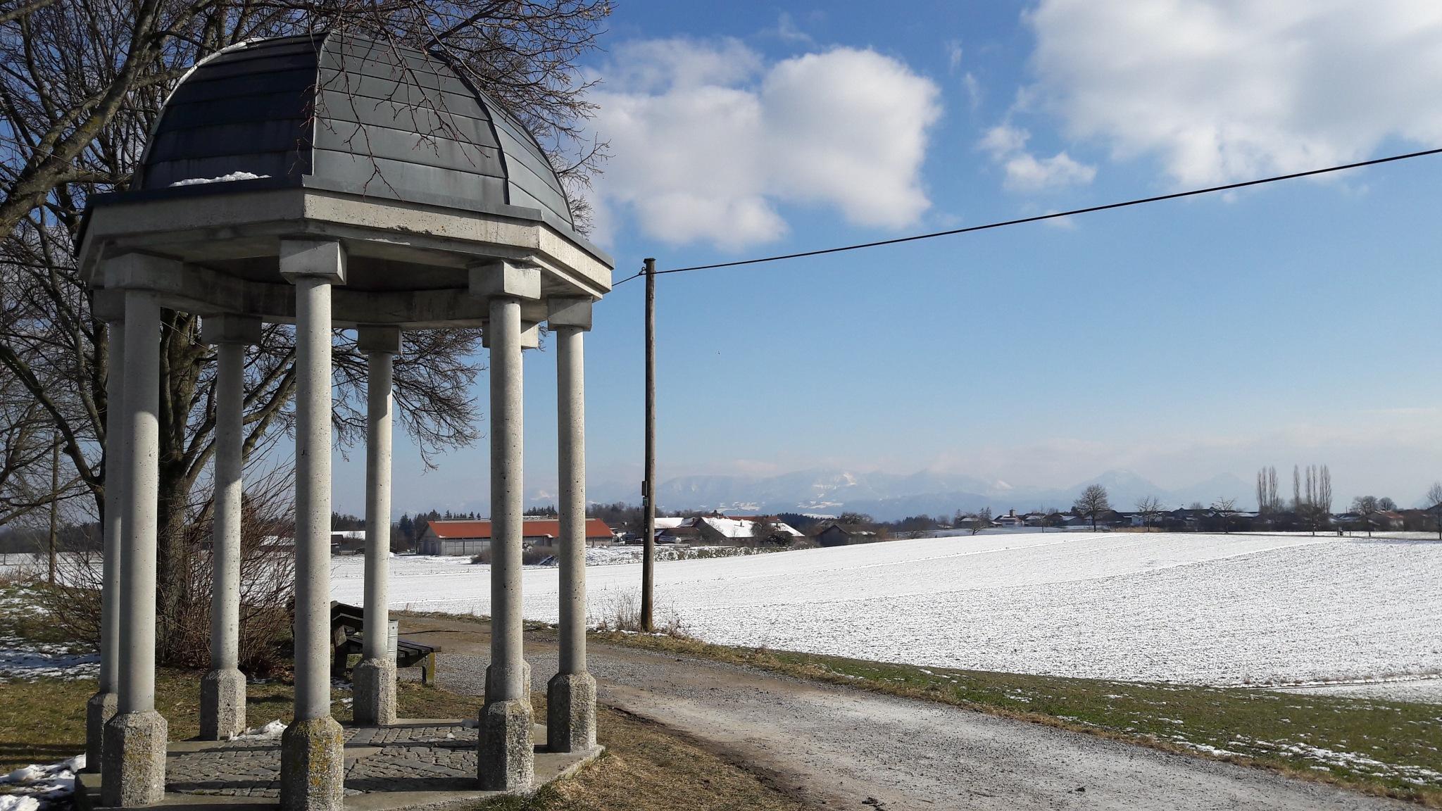 Snowy Bavaria  by Lea Sophie