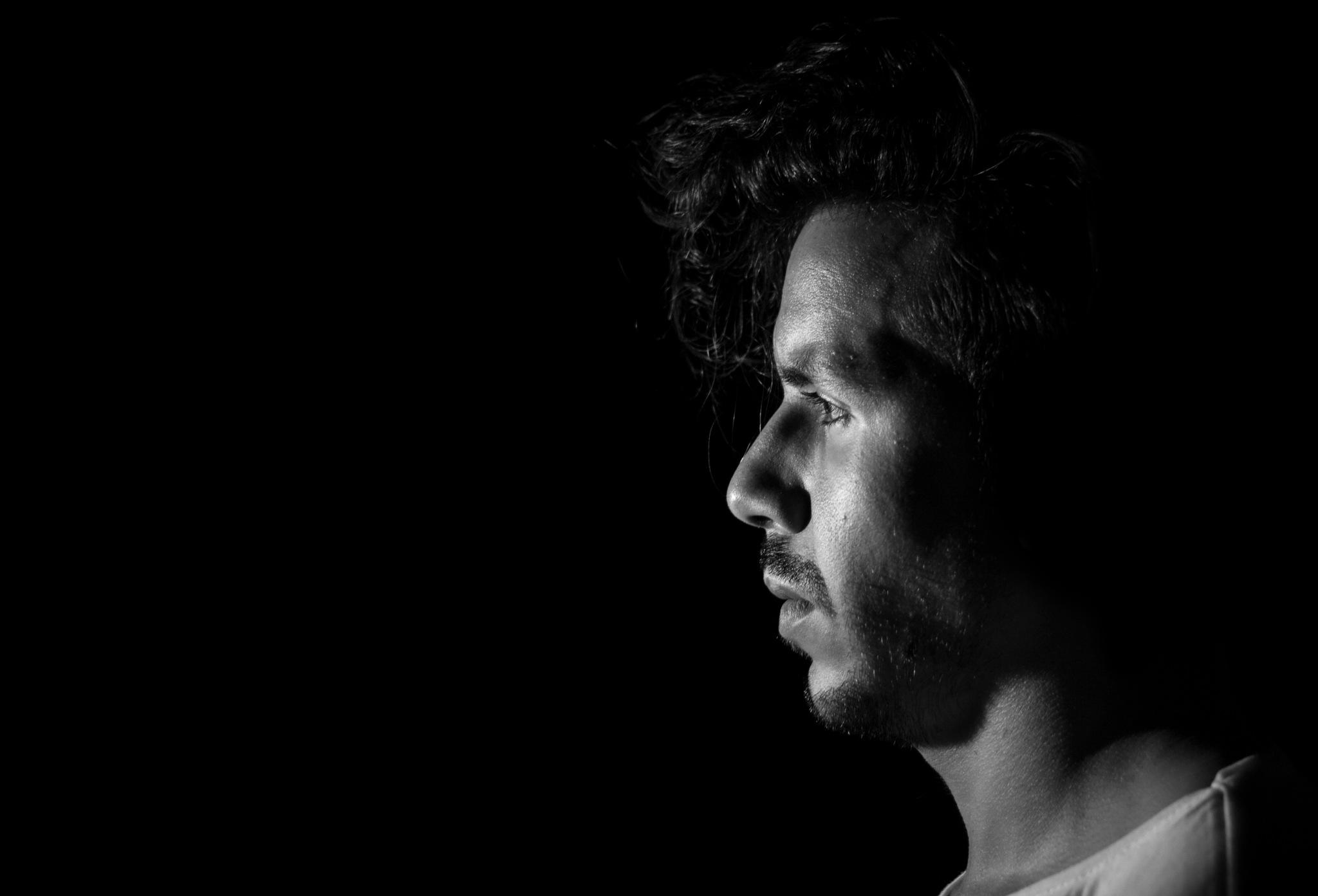 Self-Portrait by Zakaria Boumliha