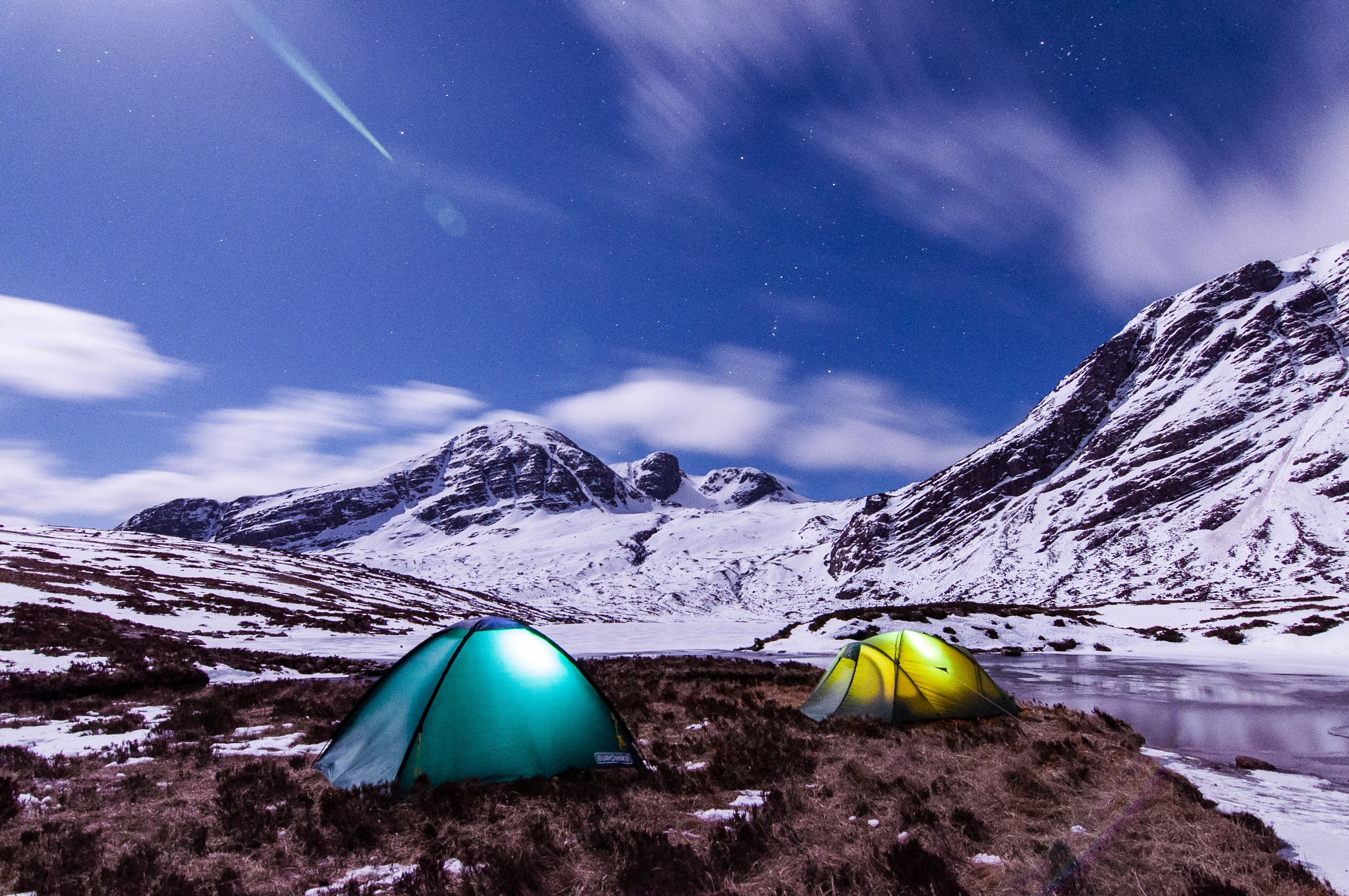 Mountain Camp by Tom Arnold