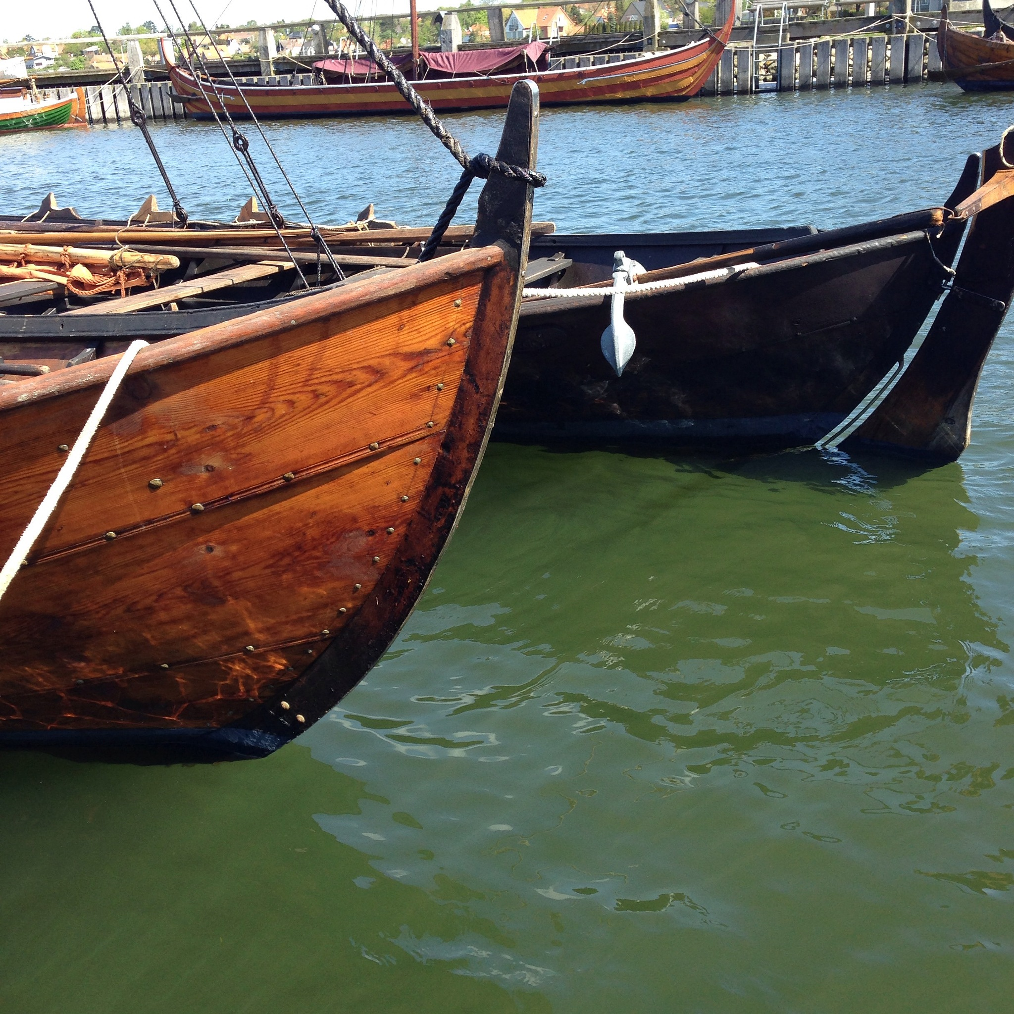 The Longboats by roy schack