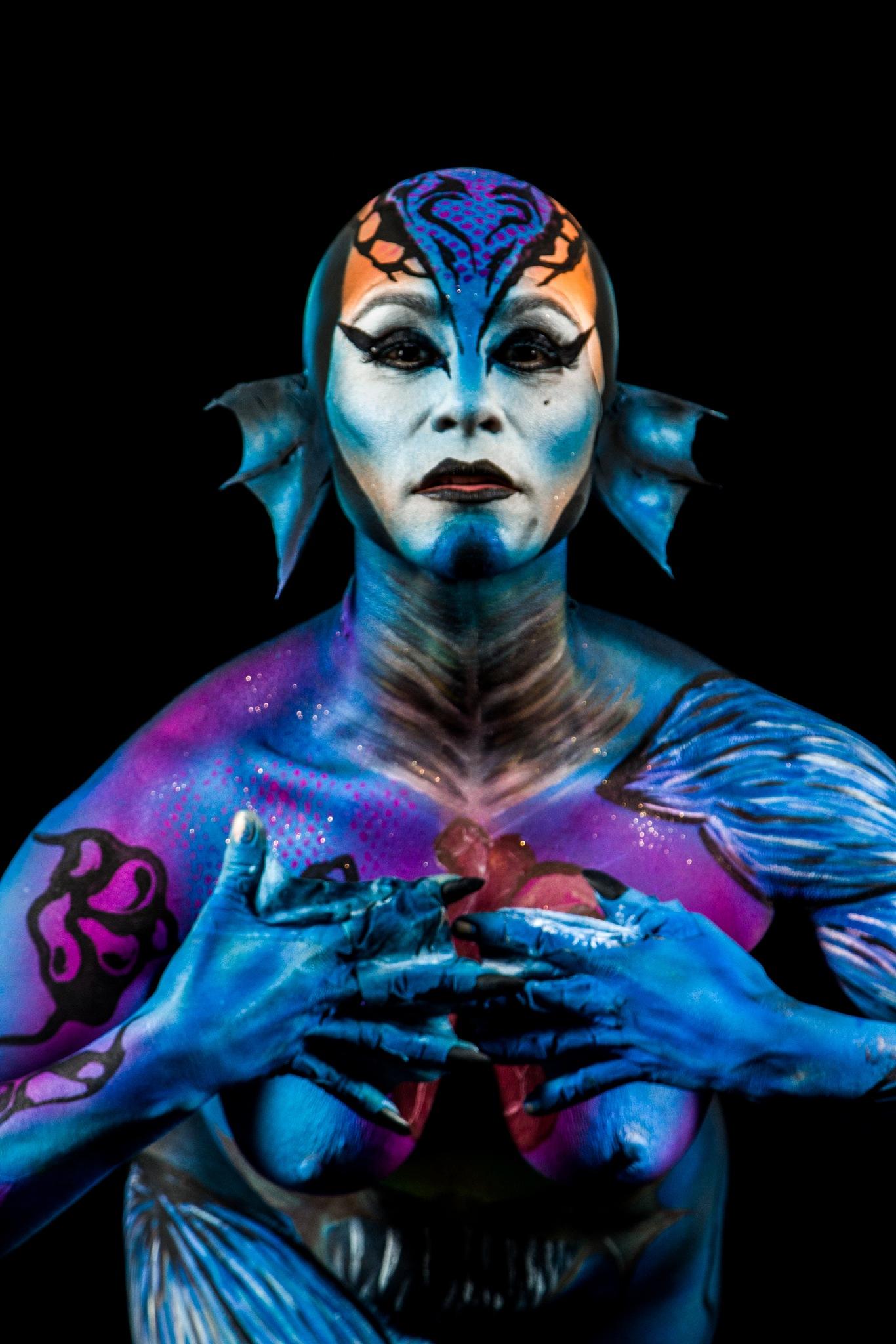 Body art by Daniel Felipe Restrepo Estrada