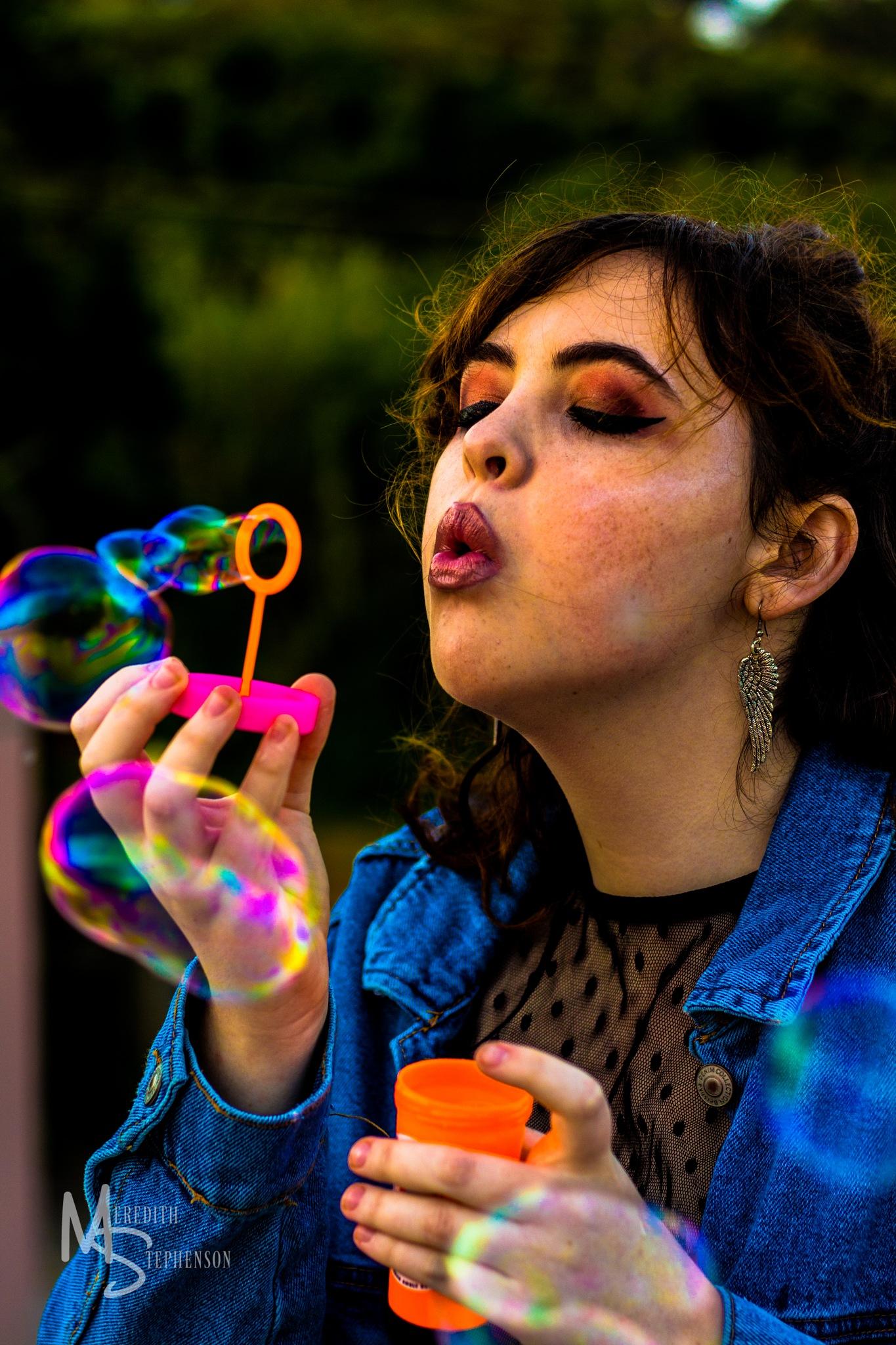 Technicolour Bubbles by Meredith Stephenson