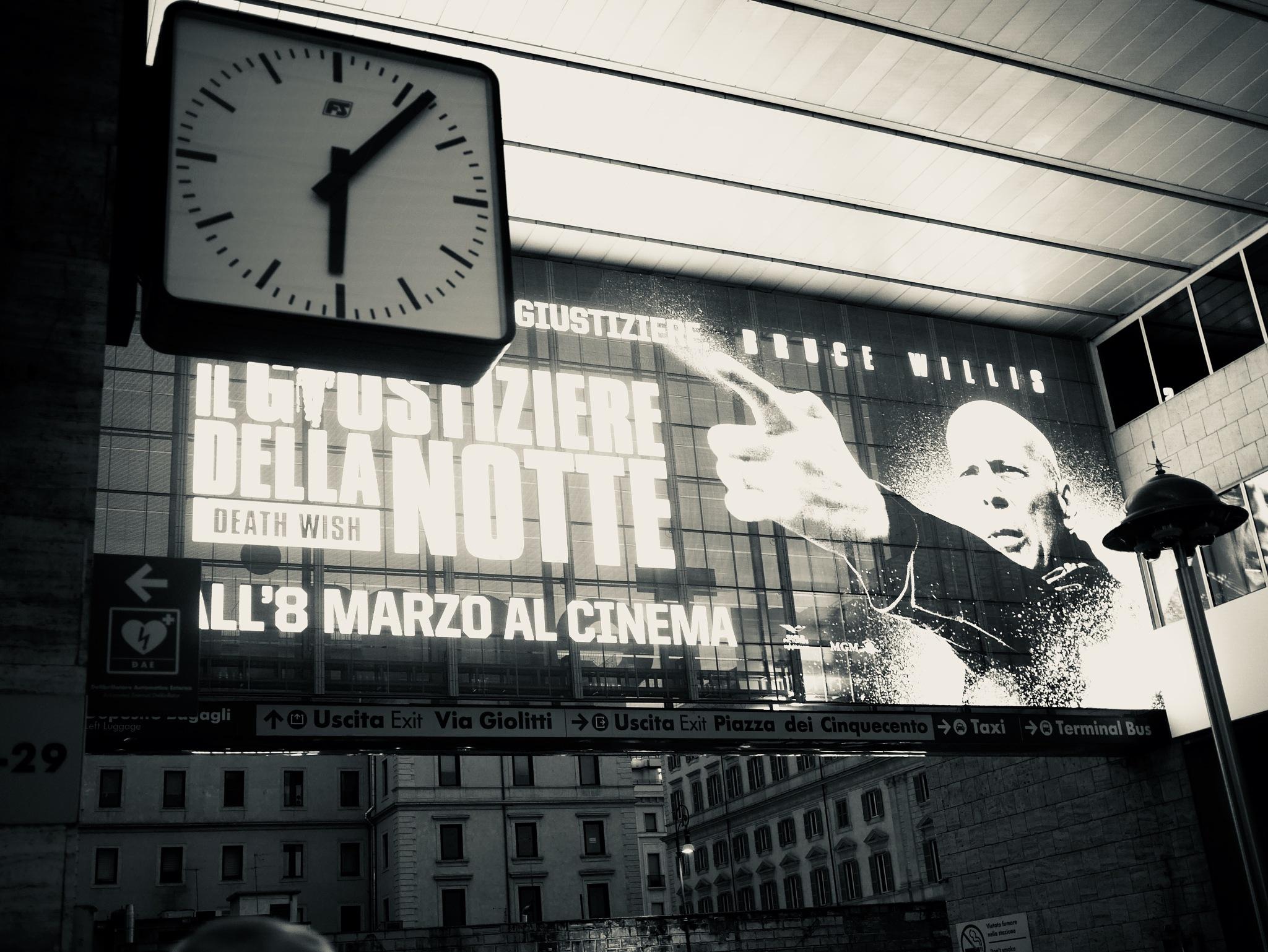 Termini Station, Rome by Mau056