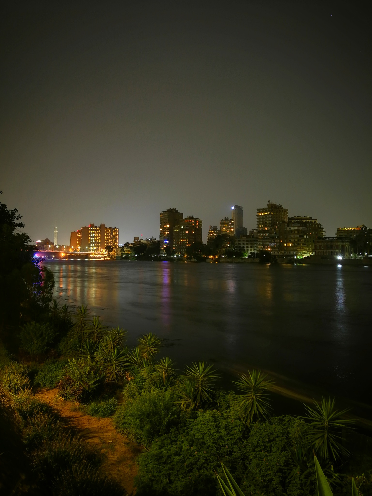 The nile river by Ahmed Hamdi