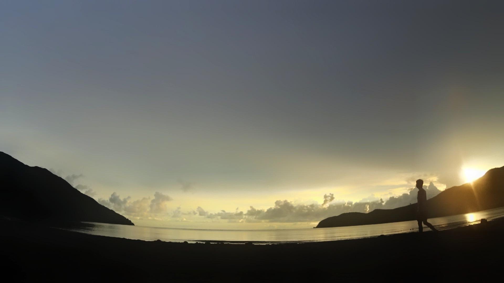Nagsasa Cove Zambales by Joe Nunag