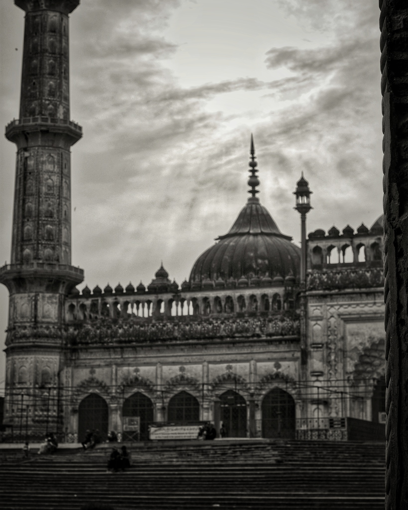 imam bada by Nitesh Chhetri