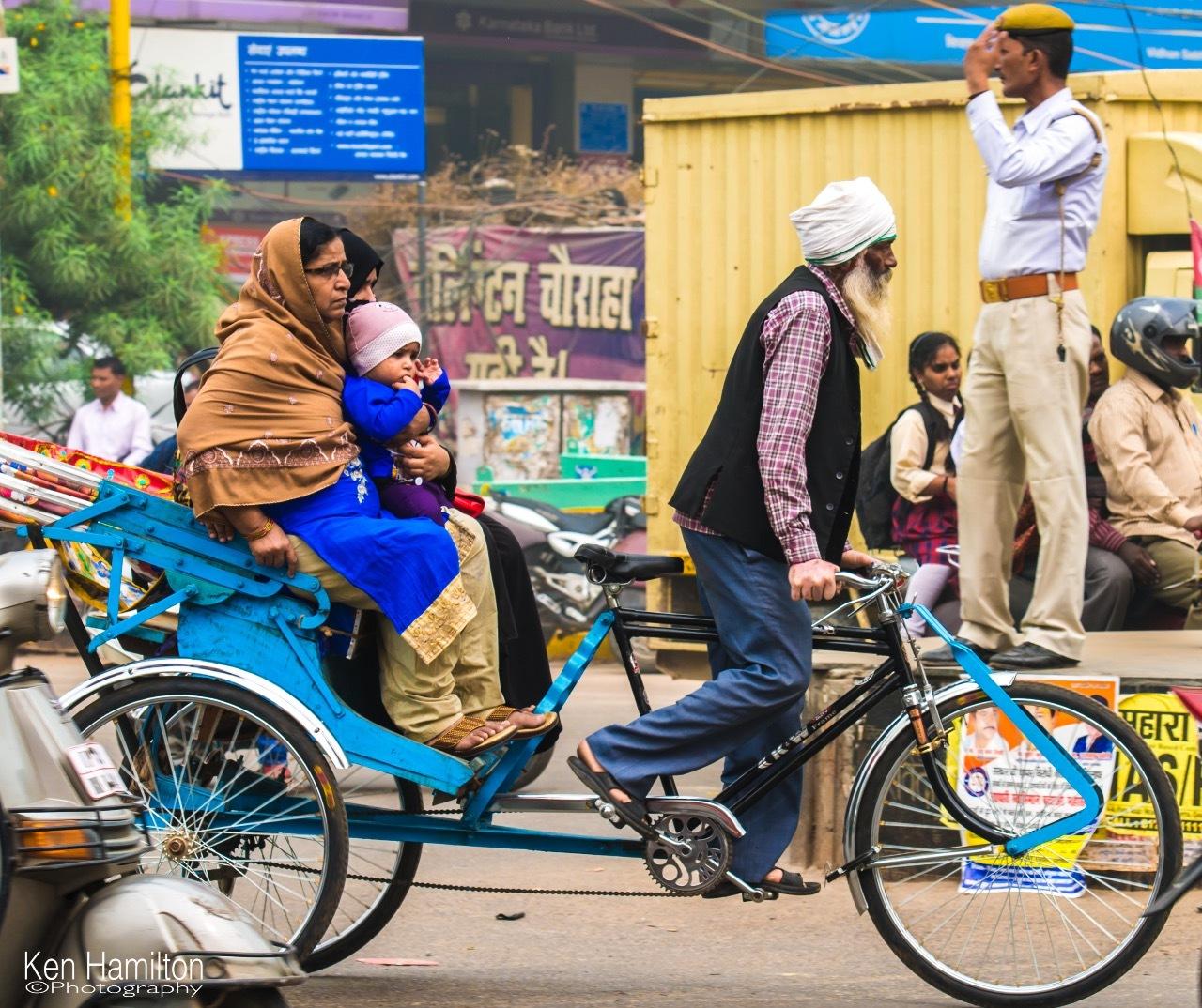 The Busy Streets Of India by KenHamilton