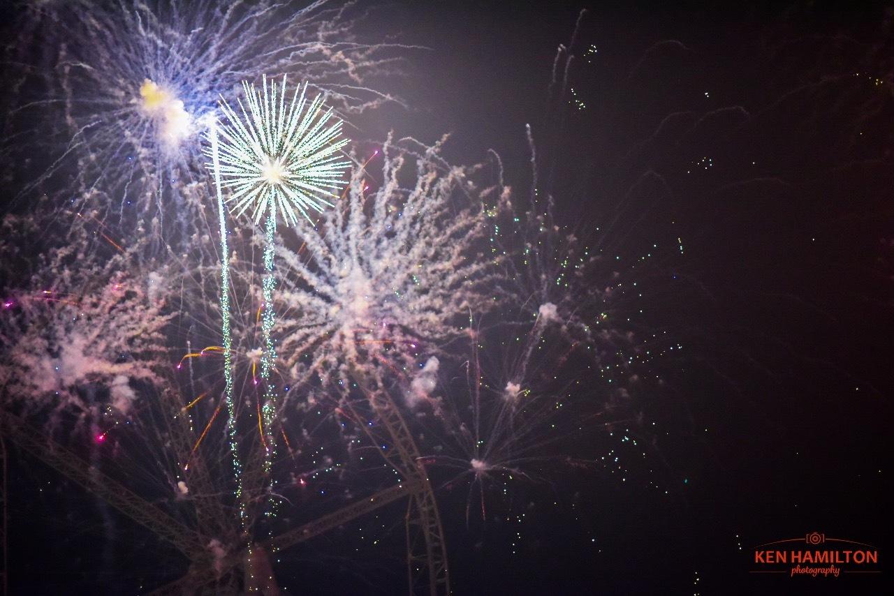 JBR Fireworks  by KenHamilton
