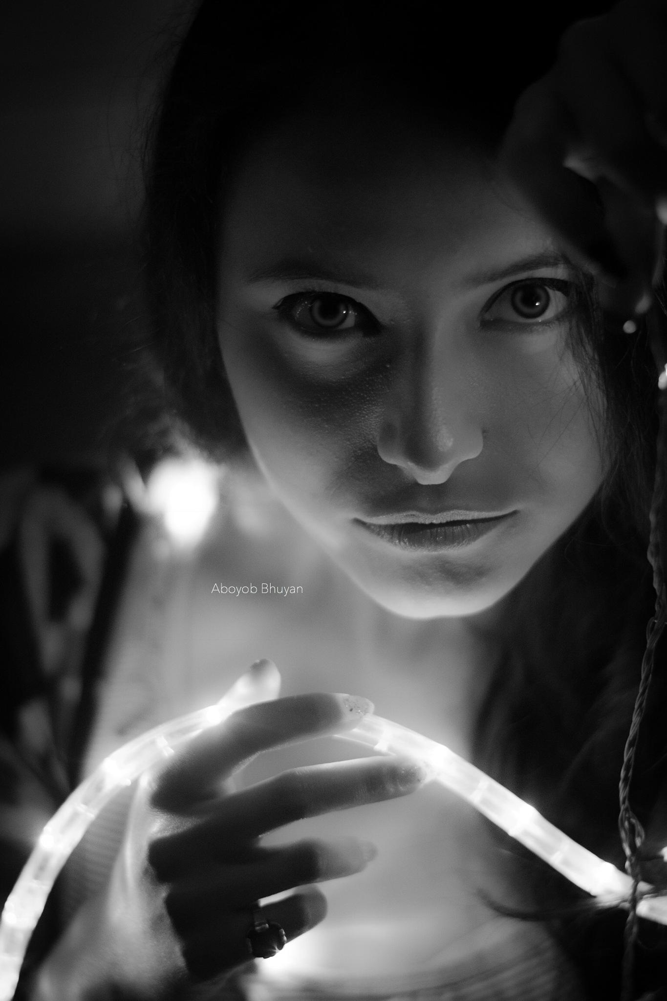 Fall in love with Eyes. by Aboyob Bhuyan