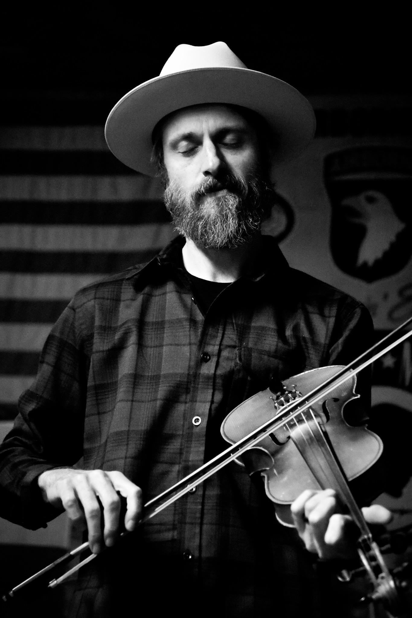 Travis Brink, The Texas Fiddle maverick. by Heidi Reinhardt