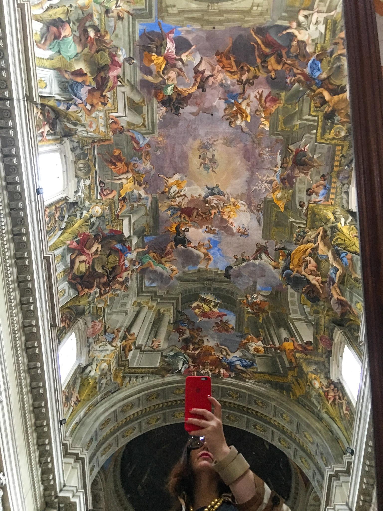 Sant'Ignazio Church, Roma by Pierina Mariani